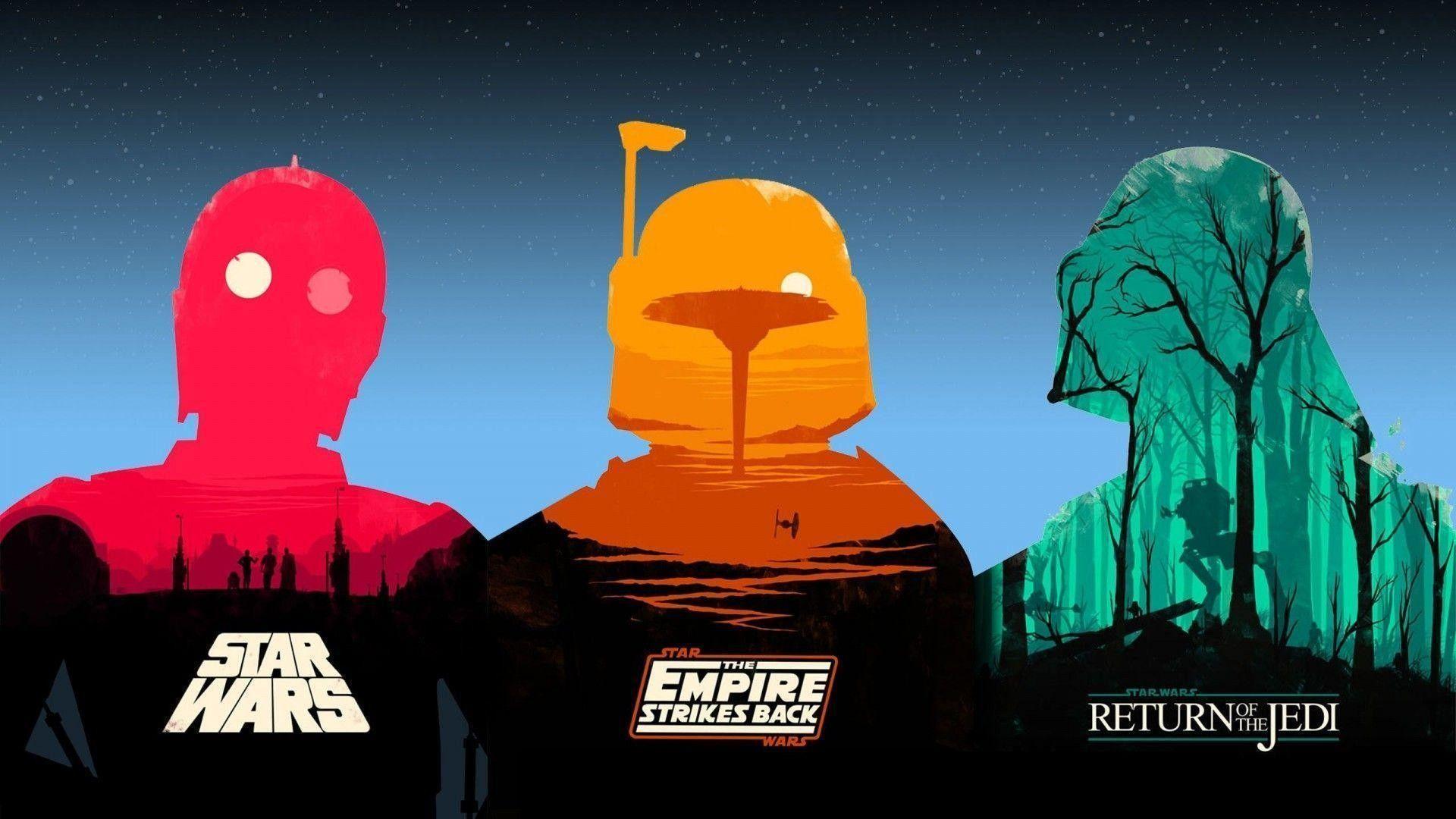 Star Wars Clone Wars Minimalist Desktop Wallpapers Wallpaper Cave