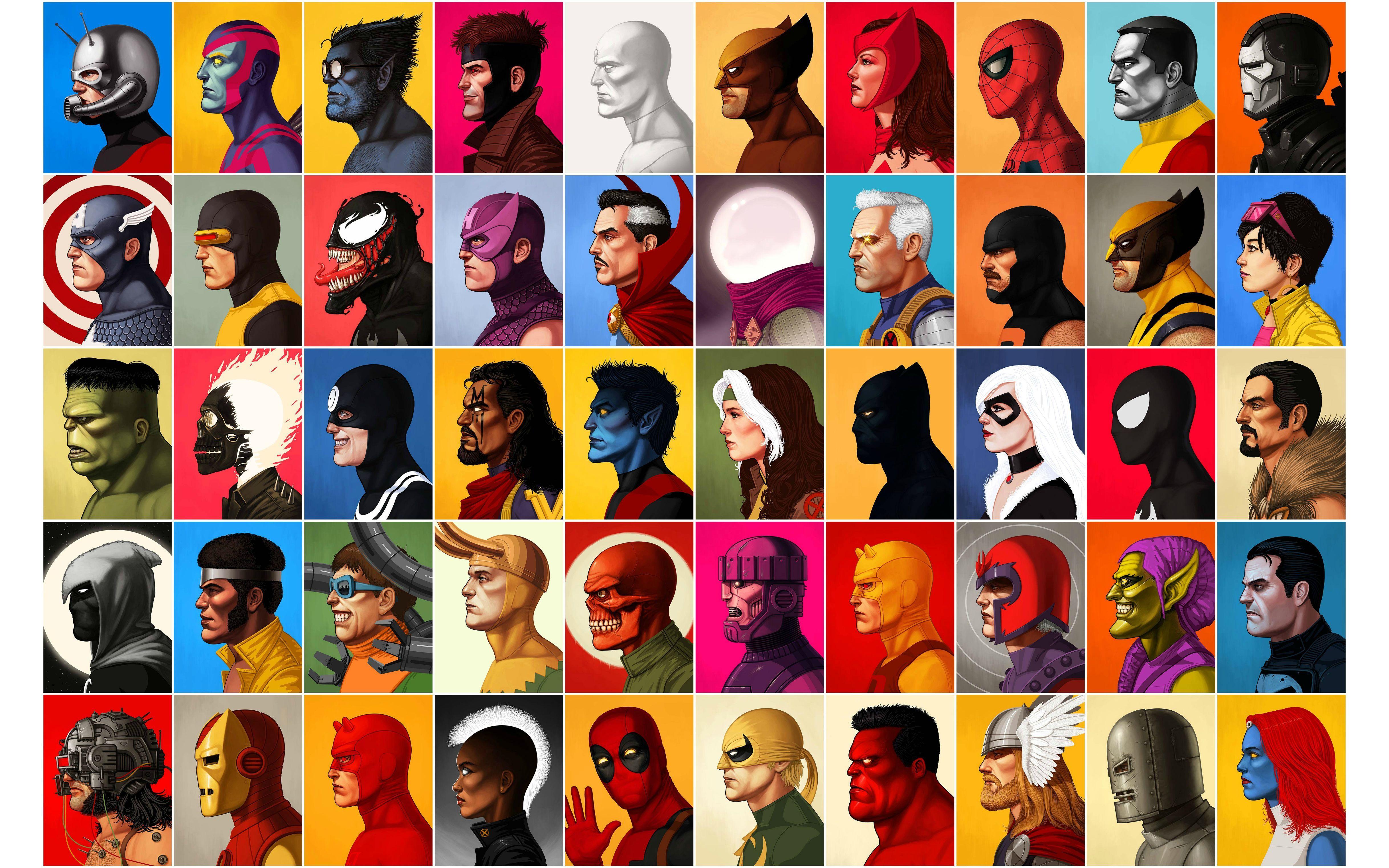 Superhero Vintage Wallpapers ...