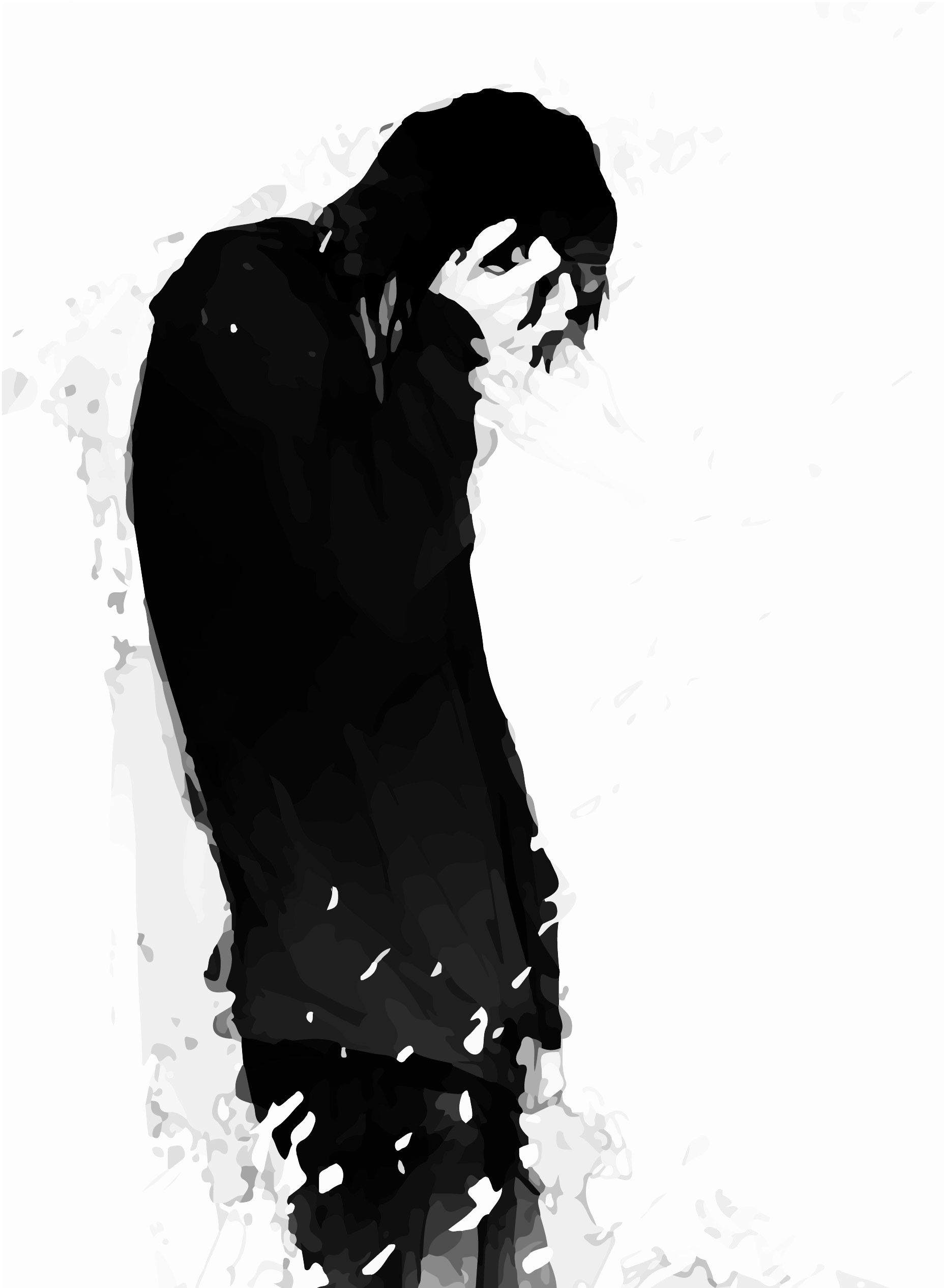 Depressed Anime Boy Drawings Wallpapers Wallpaper Cave