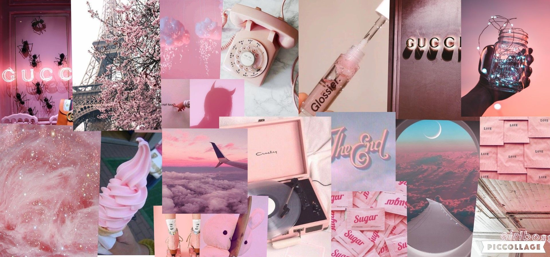 Aesthetic Laptop Pink Wallpapers Wallpaper Cave