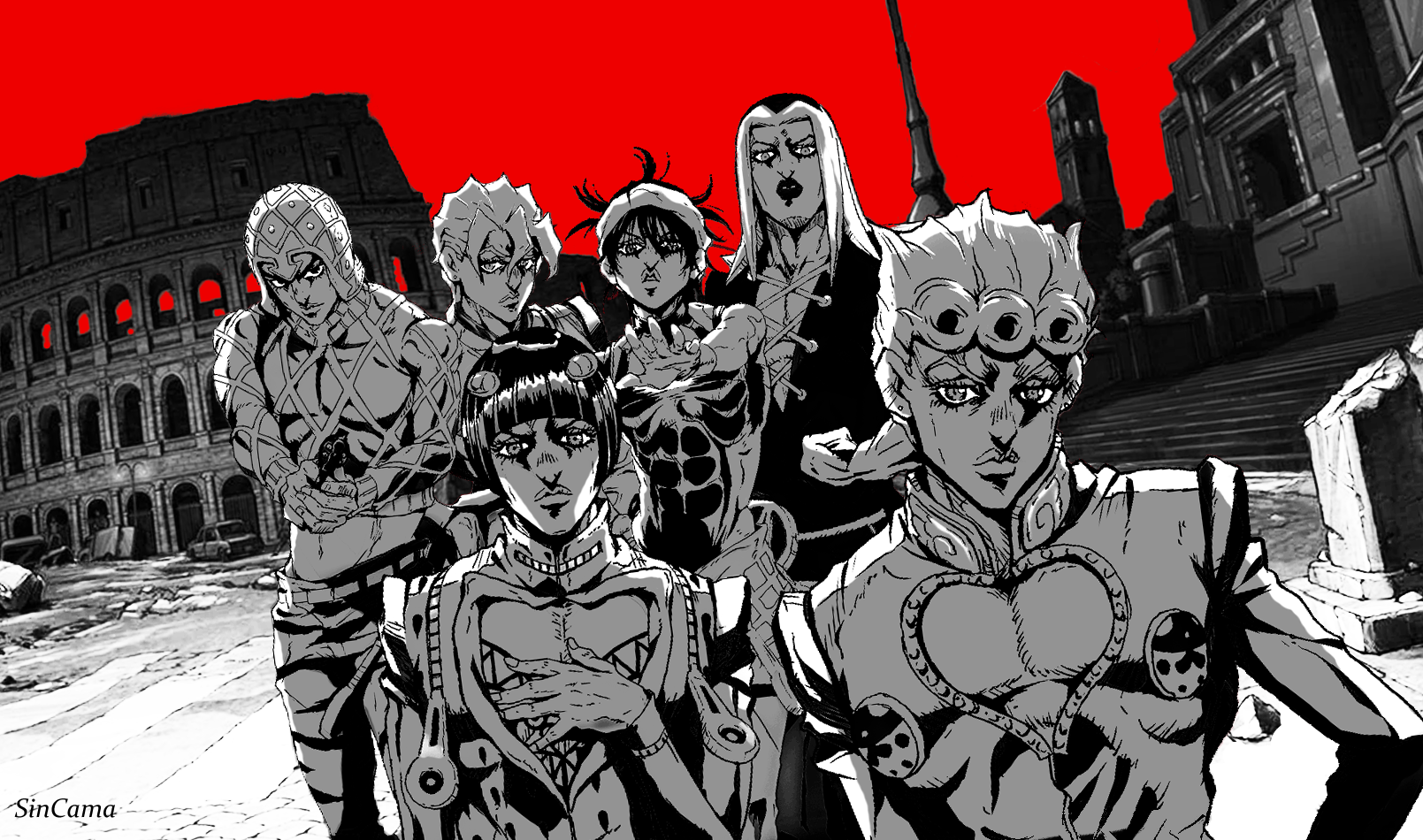 Jojo Part 5 Wallpaper