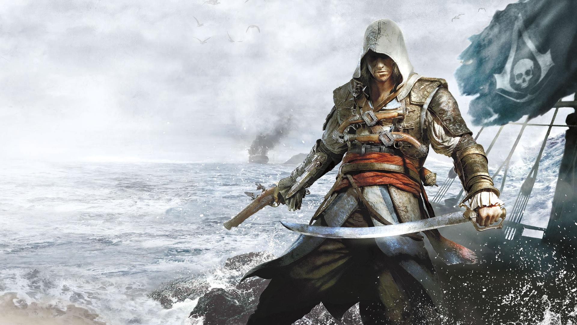 Assassin S Creed Iv Black Flag Hd Wallpapers Wallpaper Cave