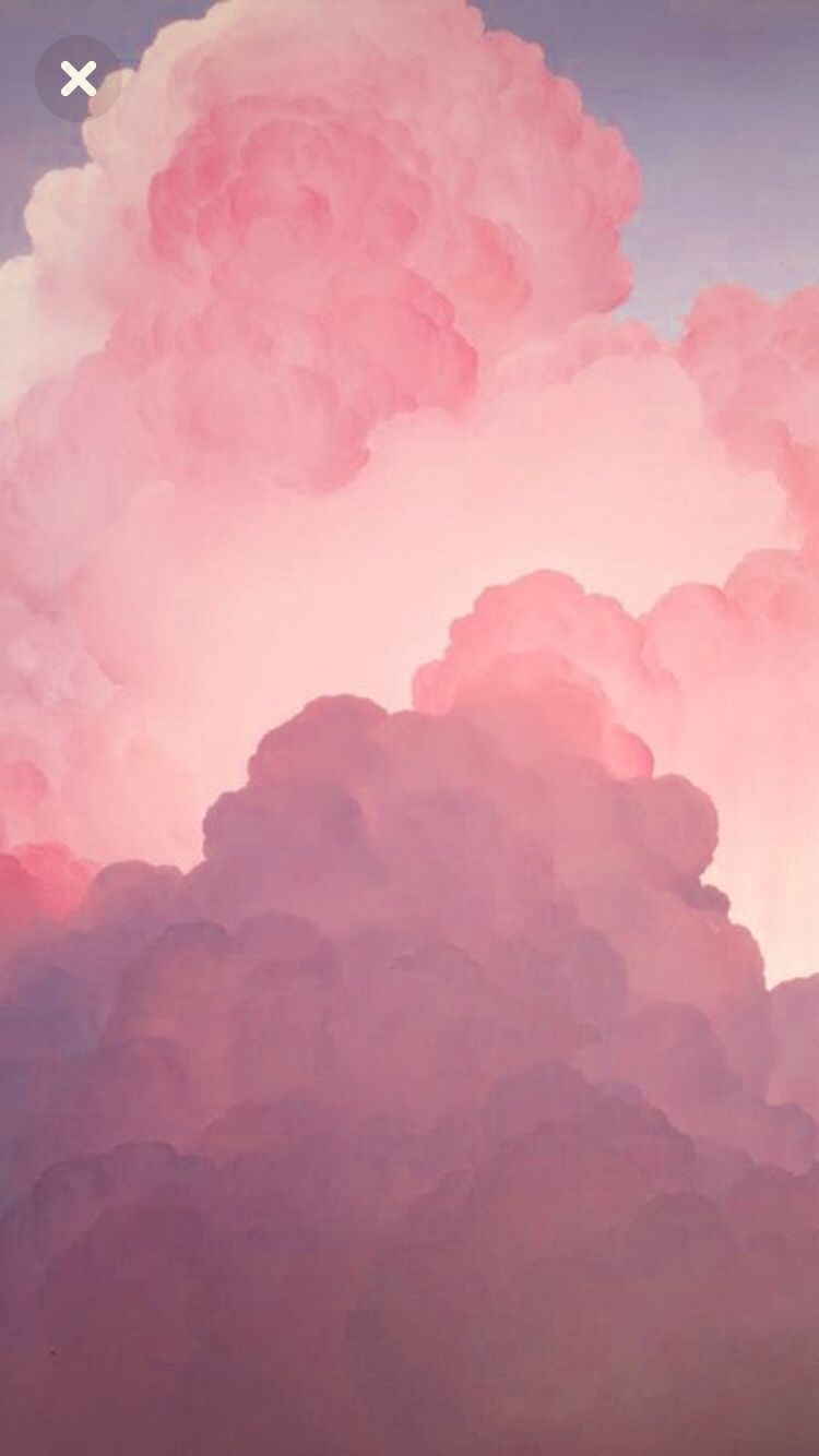 Pink Aesthetic Clouds Wallpapers Wallpaper Cave