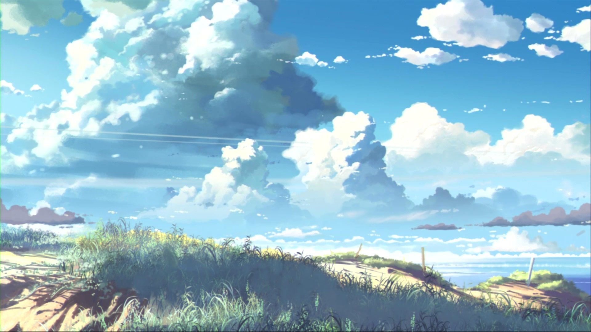 Anime Cloud Wallpapers