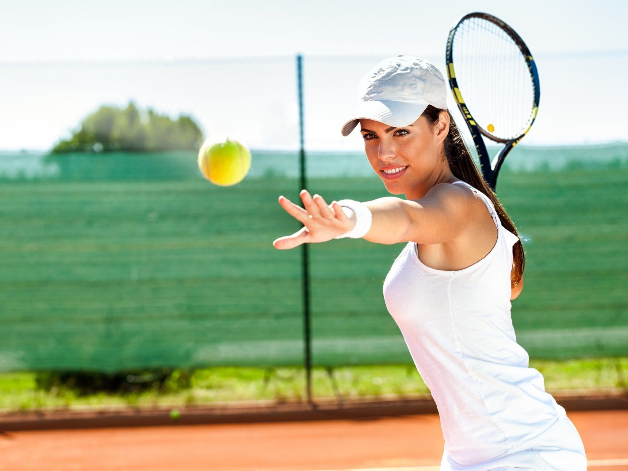 Tennis Women Player Wallpapers Wallpaper Cave