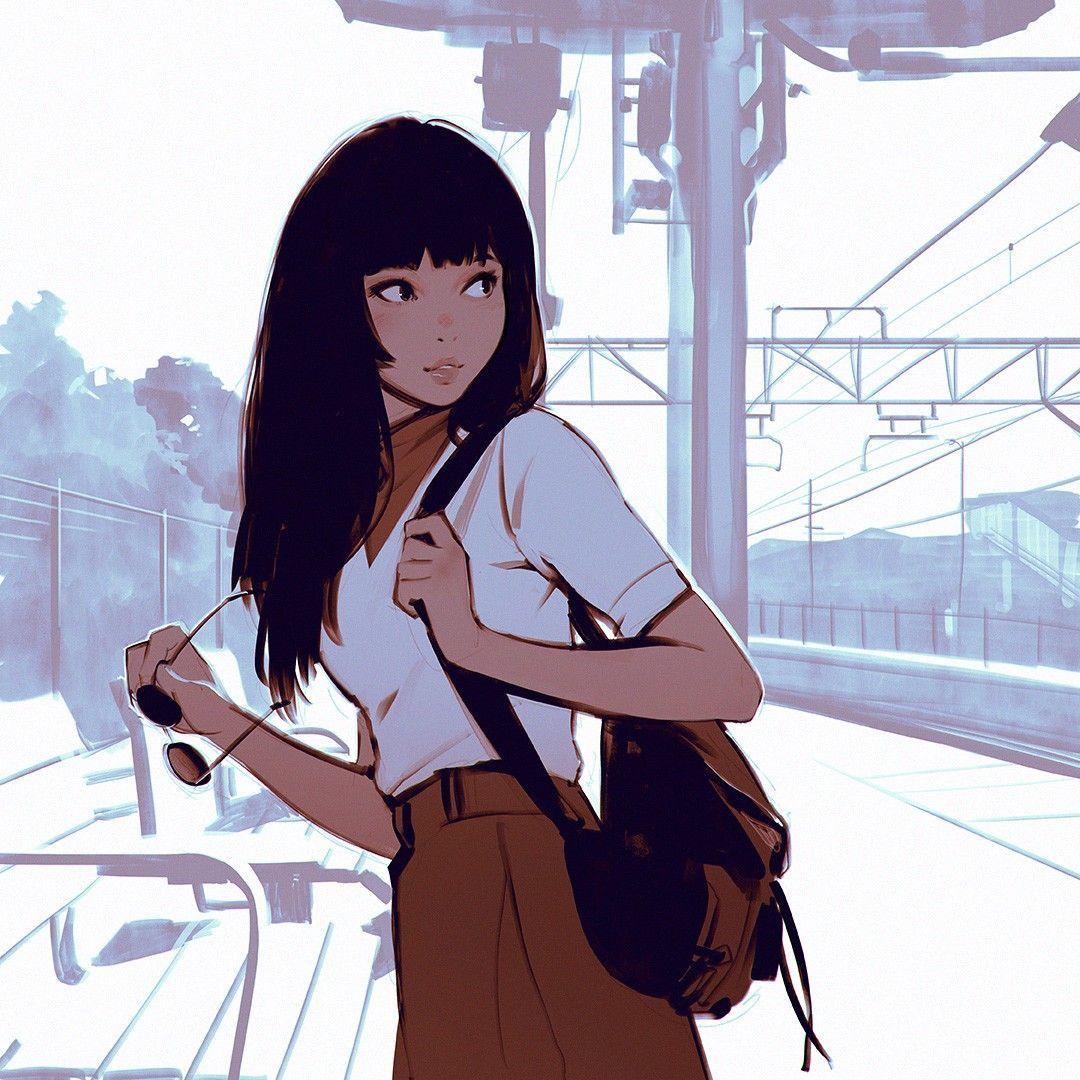 26+ Dark Anime Girls Pfp JPG