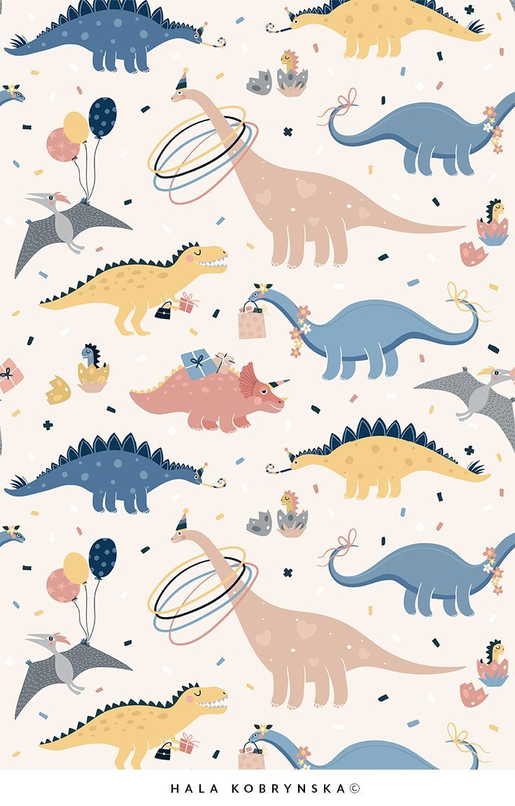 Little Dinosaur Aesthetic Drawing Wallpapers Wallpaper Cave