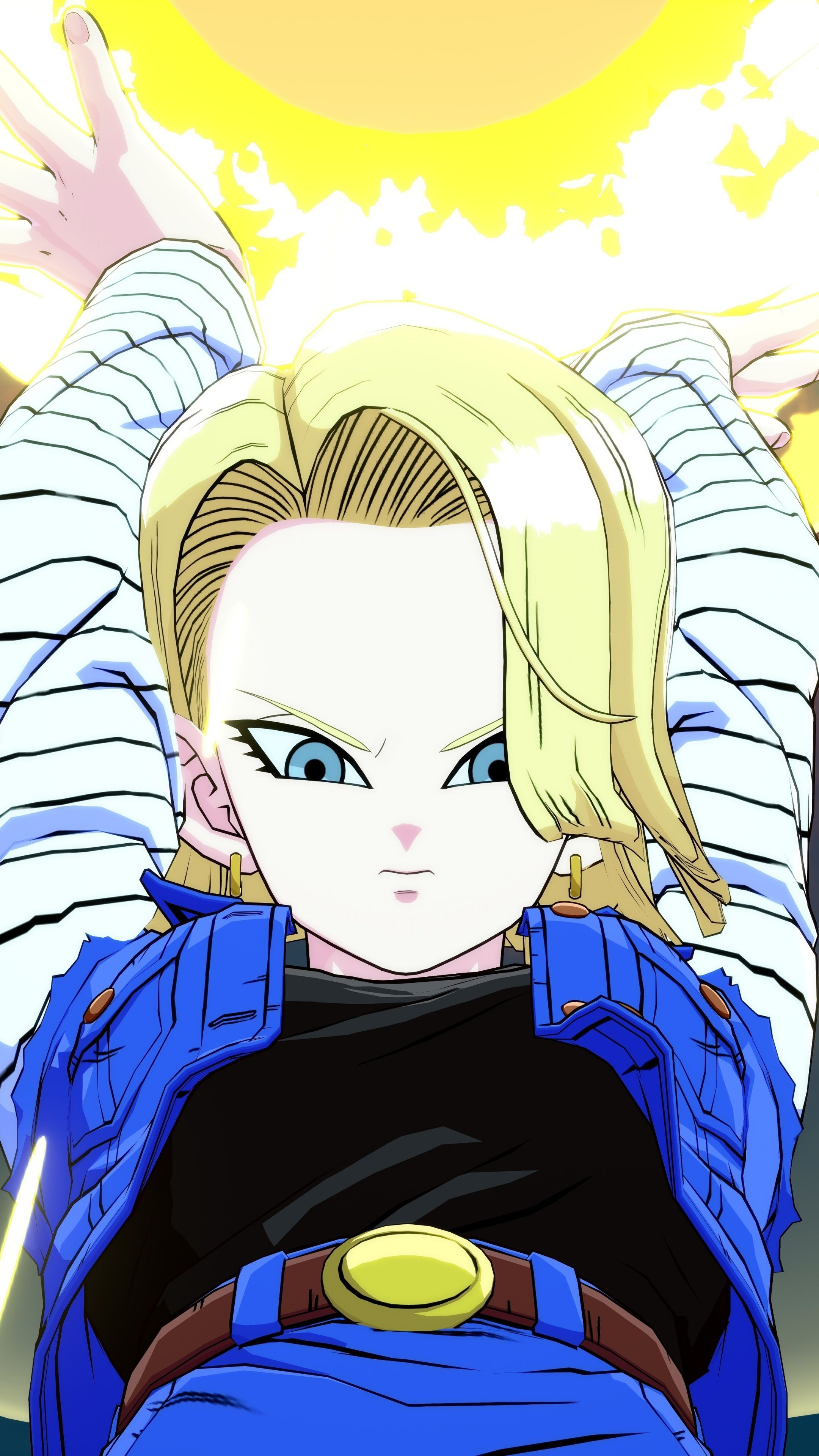 Super Android 18 Wallpapers - Wallpaper Cave