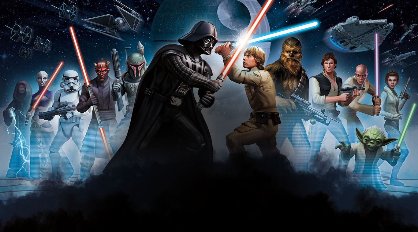 Star Wars Heroes Wallpapers Wallpaper Cave