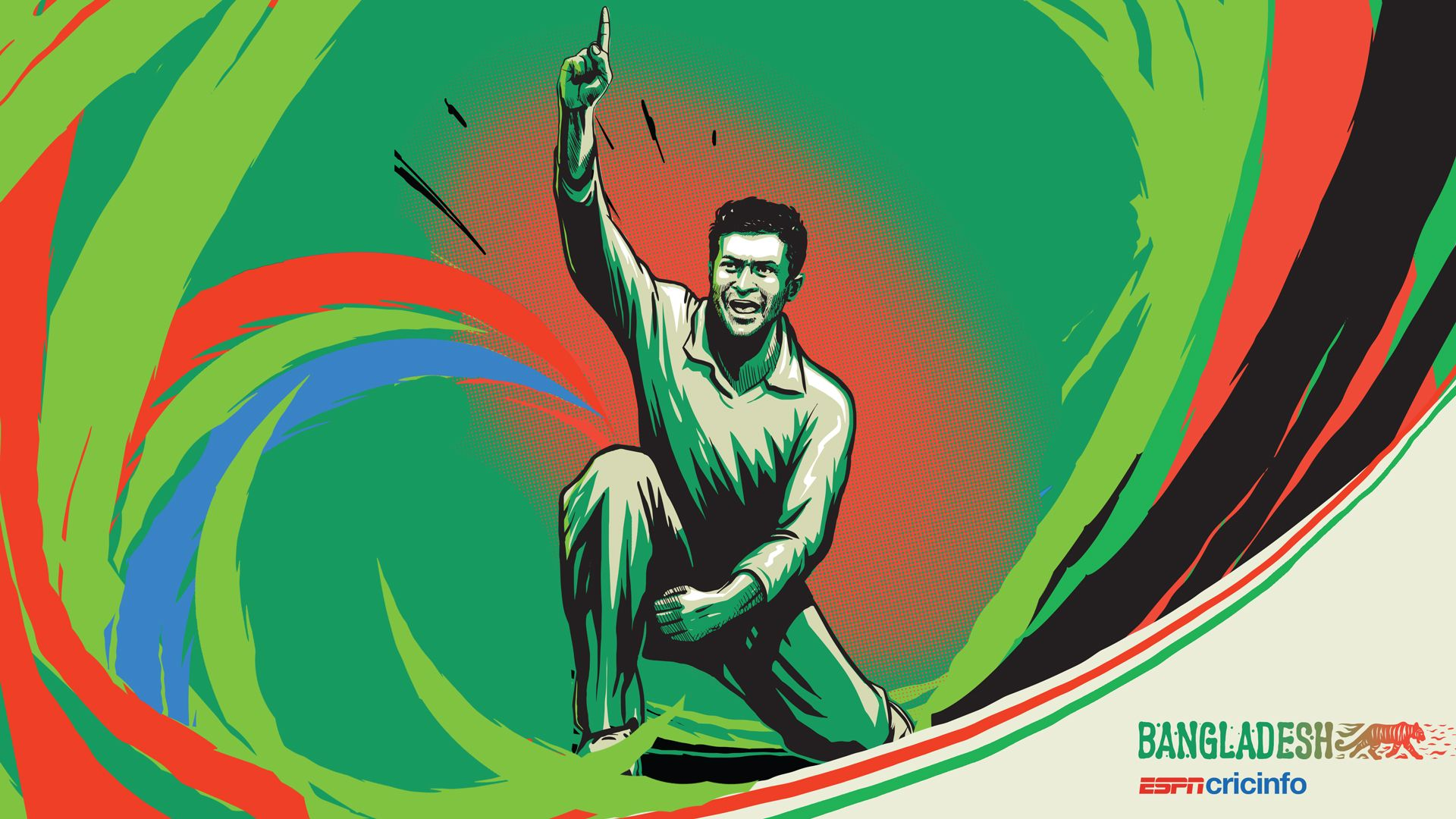 Bangladeshi Cricket Team Zoom Background 2