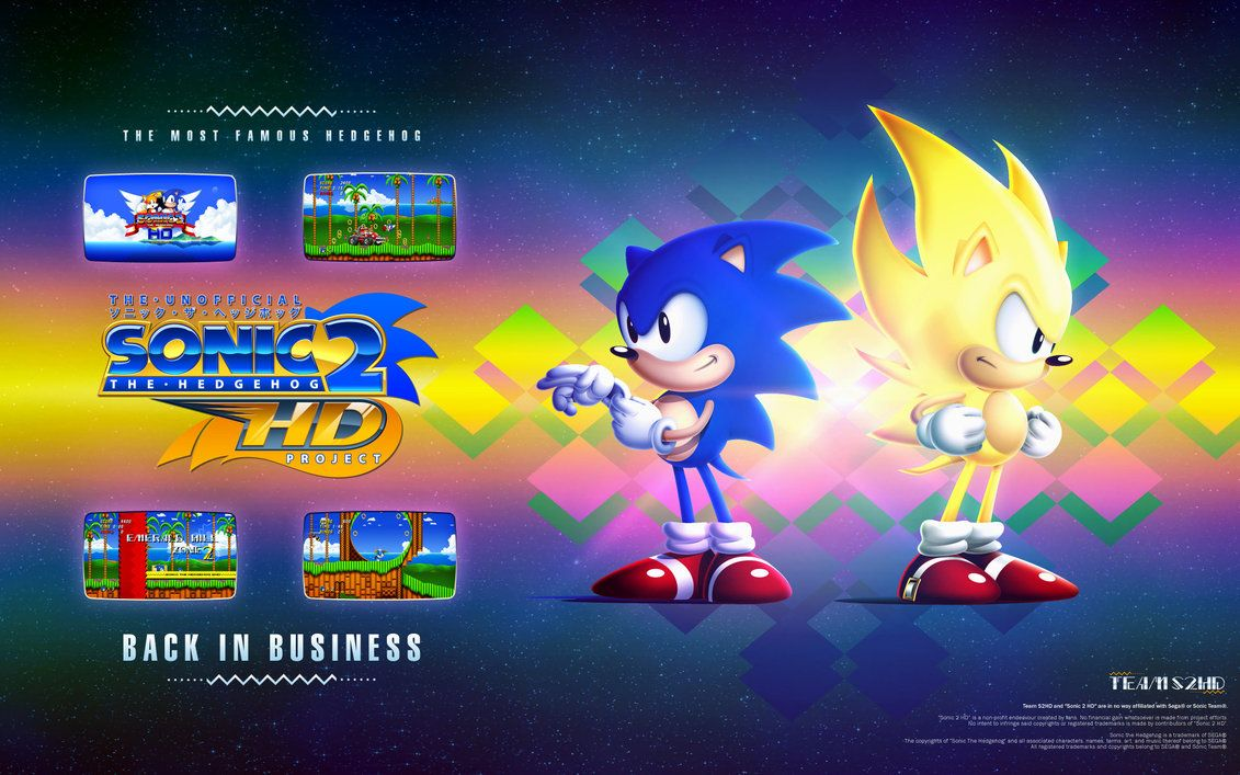 Super Classic Sonic Wallpapers Wallpaper Cave