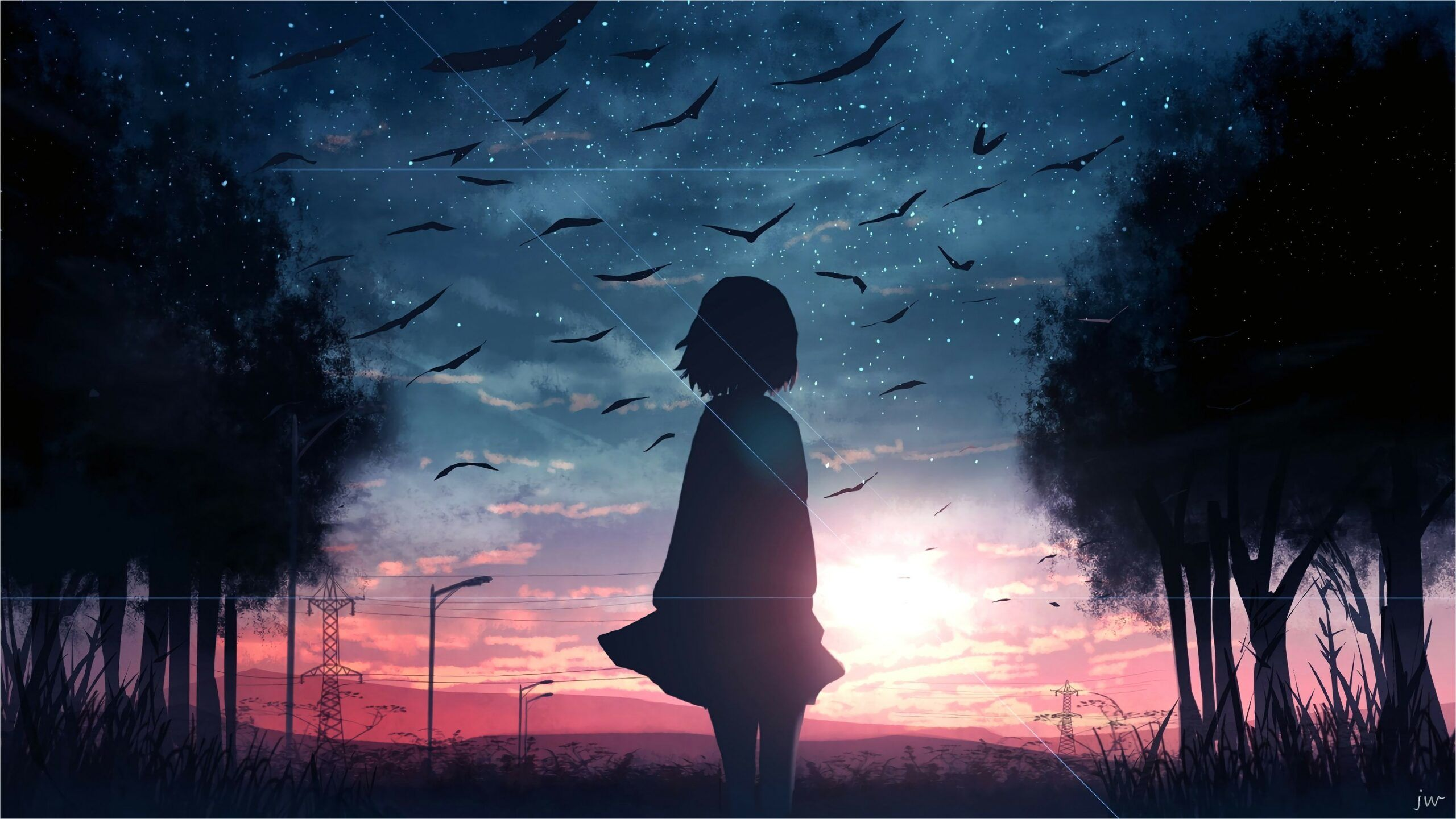 Anime Sad Landscape Wallpapers - Wallpaper Cave
