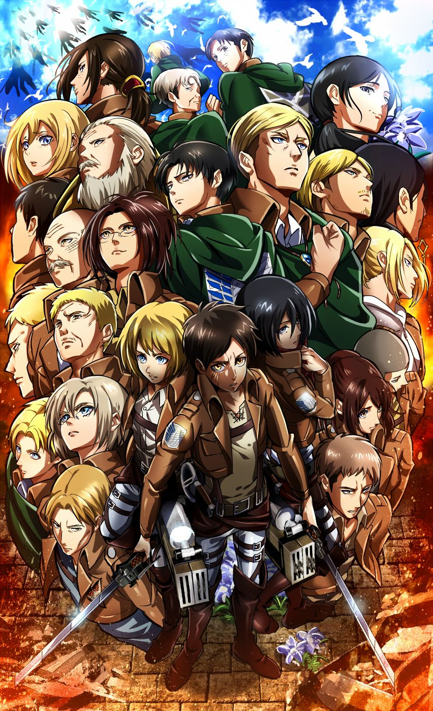 Android Attack On Titan Wallpapers Wallpaper Cave