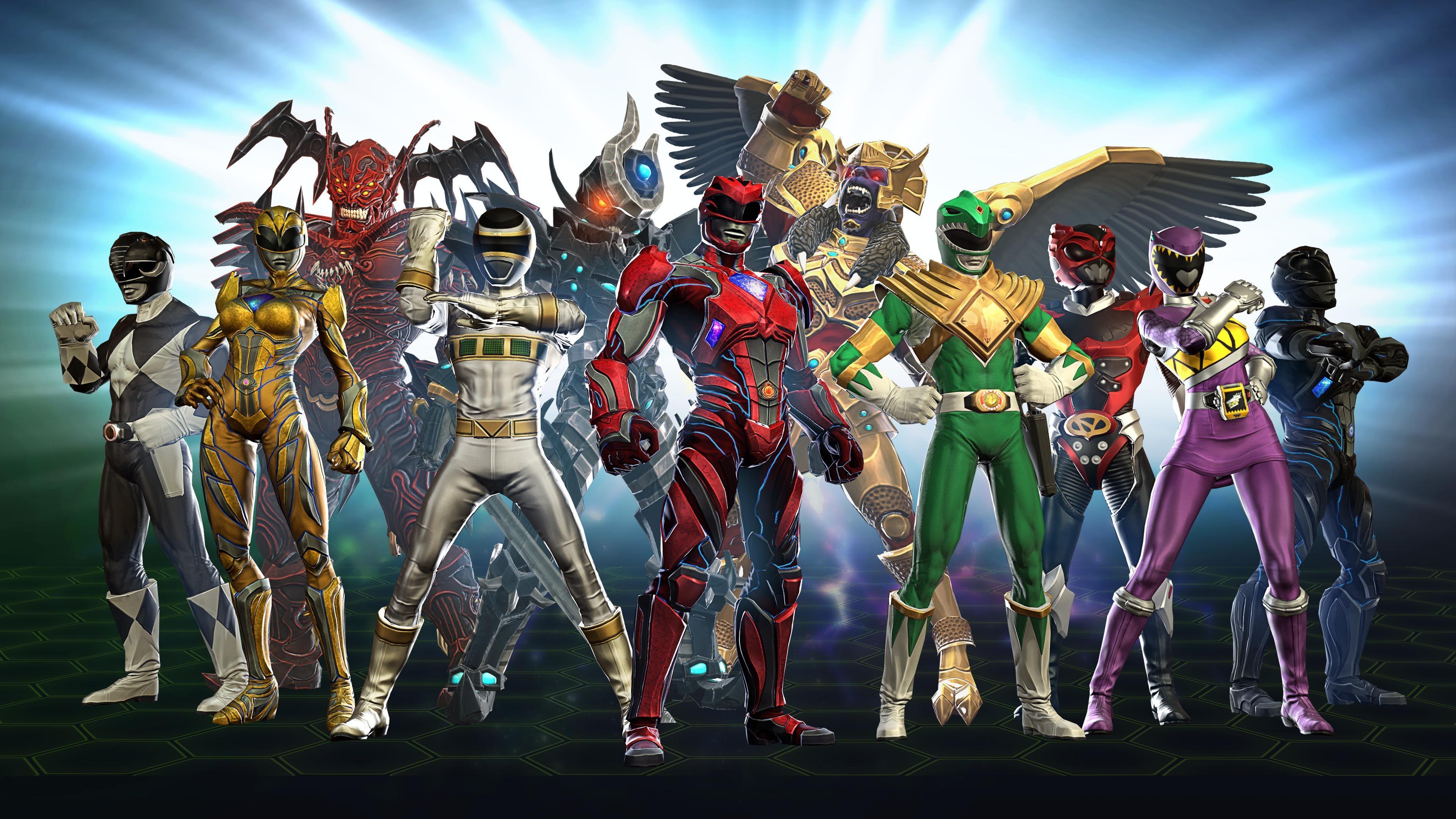 Power Rangers Heroes Wallpapers - Wallpaper Cave