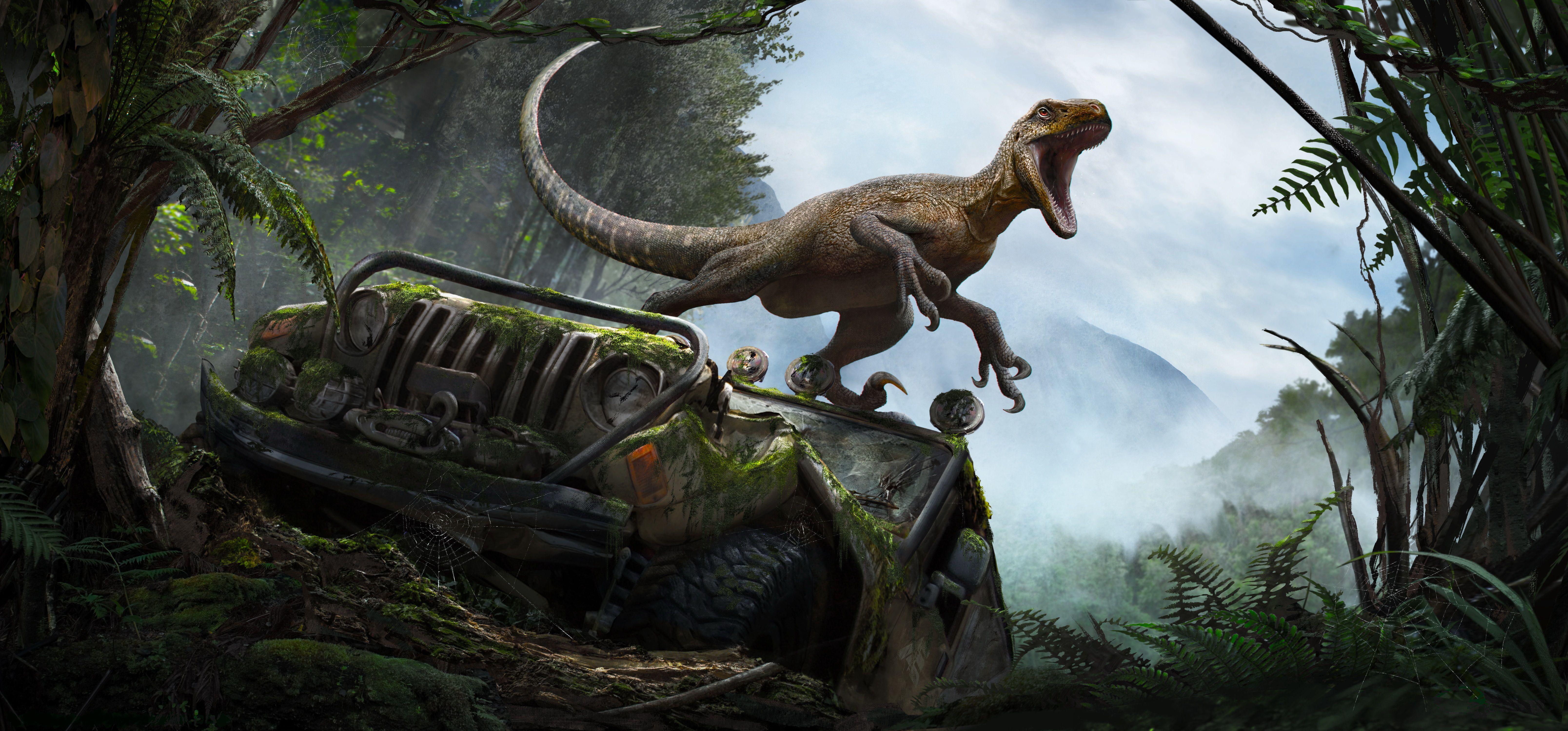Jurassic World Desktop Wallpapers - Wallpaper Cave