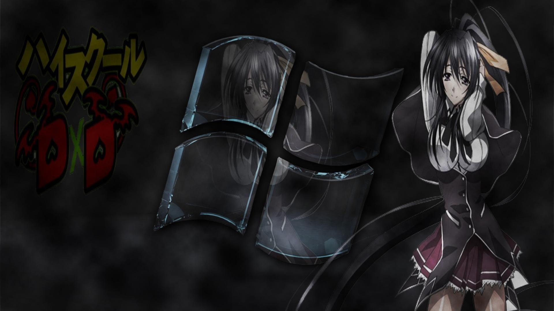 Картинка на рабочий стол демоны старшей школы