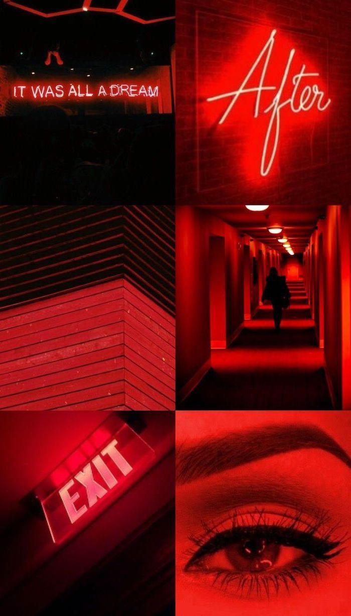 Black And Red Aesthetic Wallpapers Wallpaper Cave