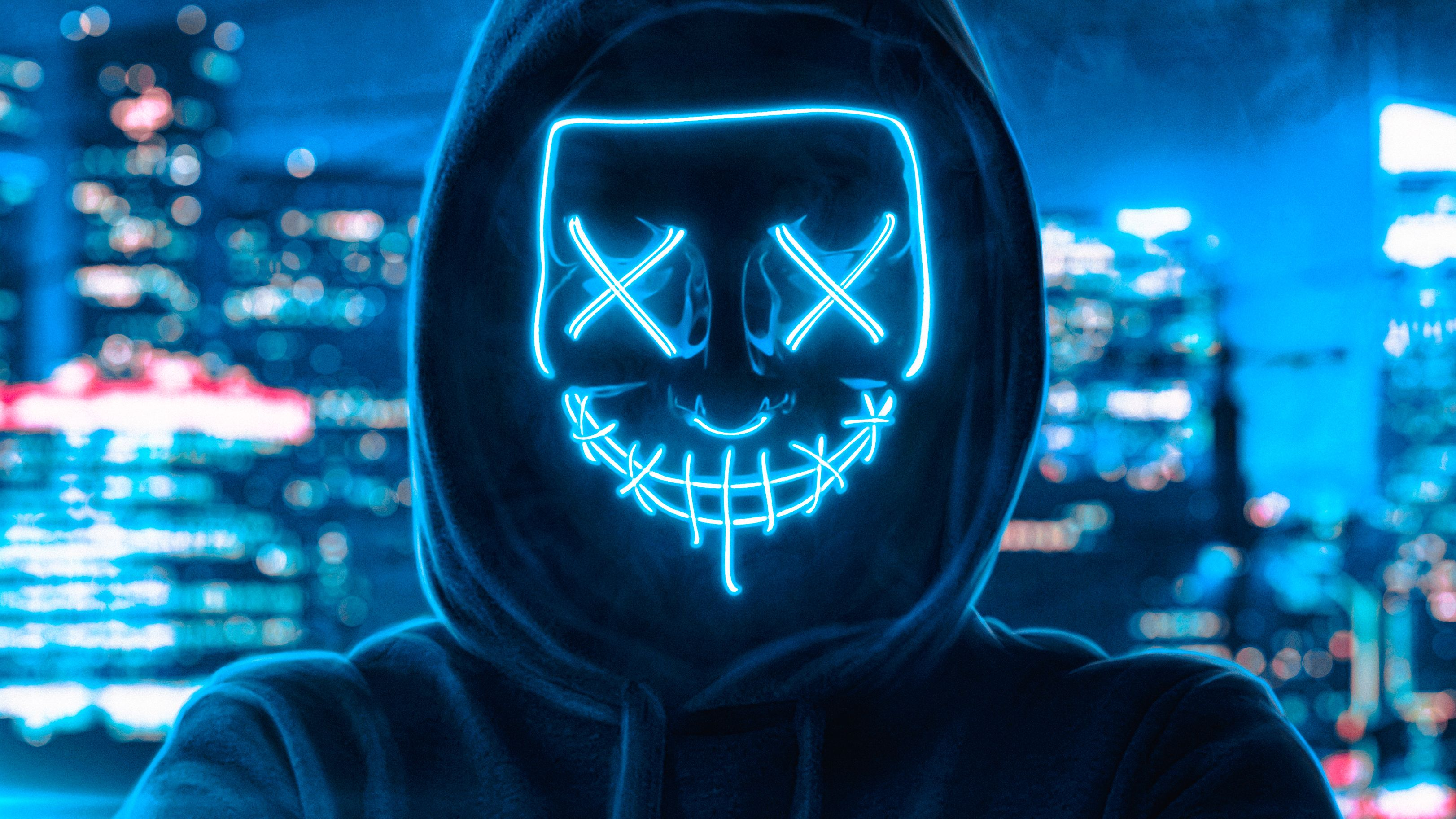 Guy In Mask Wallpapers Wallpaper Cave