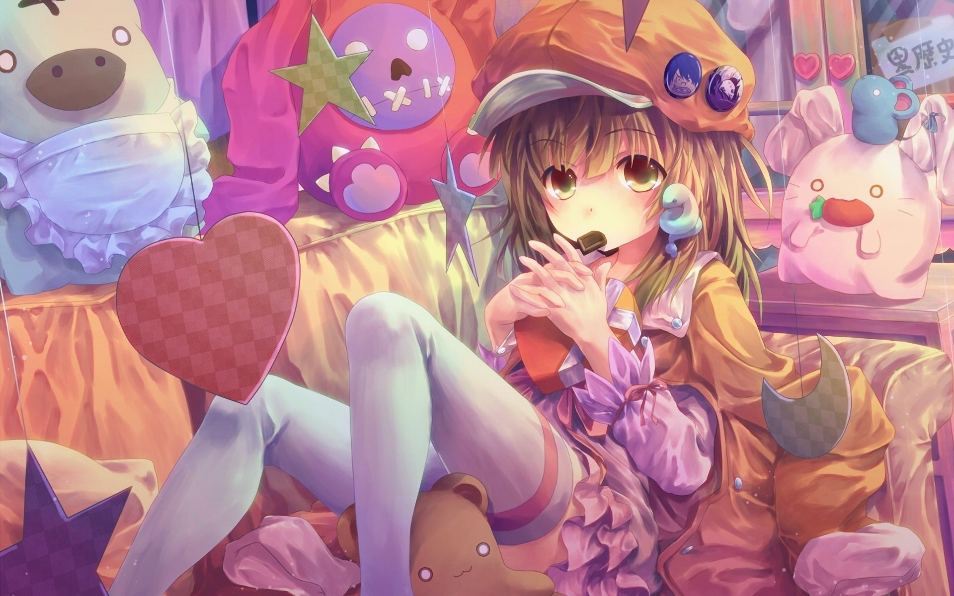 Cute Anime Girl Ps4 Wallpapers Wallpaper Cave