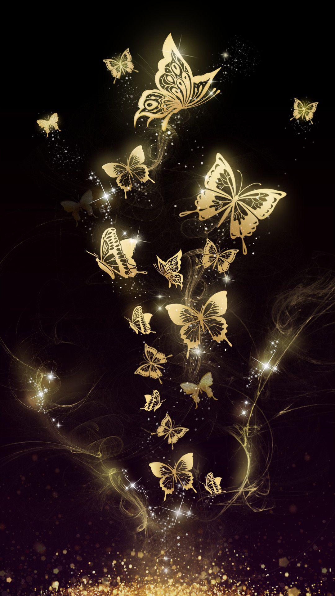 Dark Butterfly Anime Girl Wallpapers - Wallpaper Cave