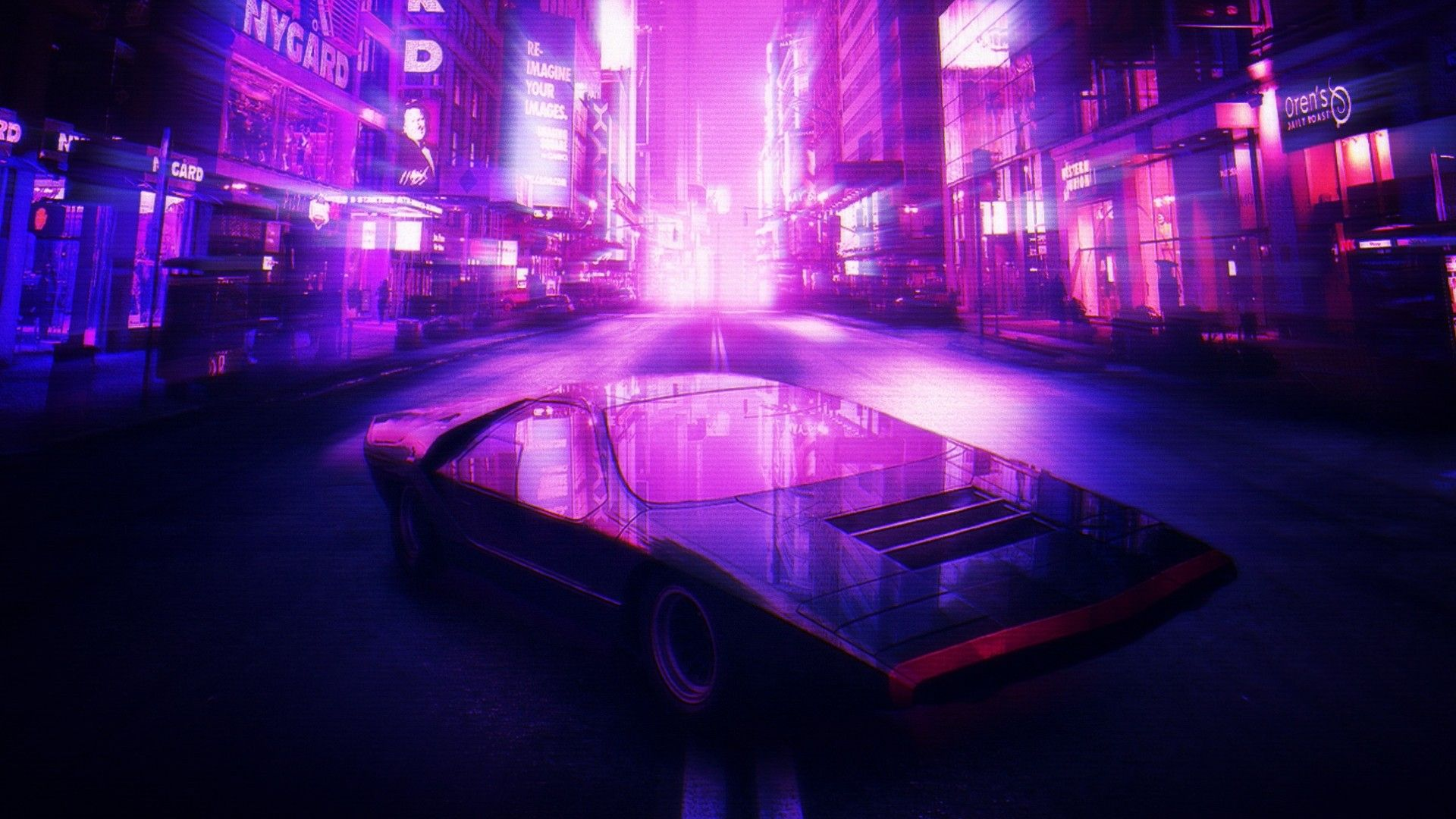 Retro Synthwave 4k Wallpapers - Wallpaper Cave