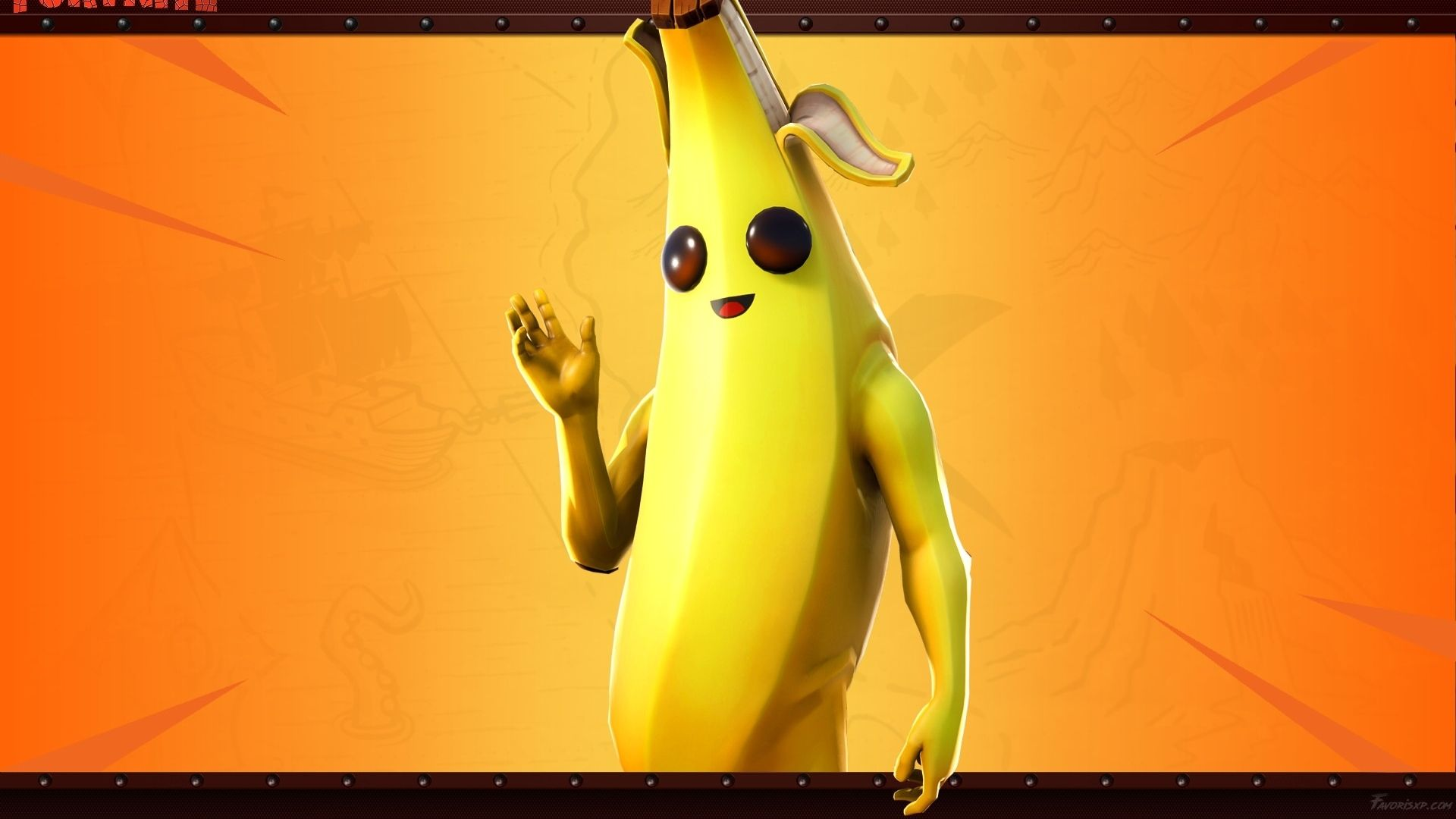 Banana Skin Fortnite Wallpapers Wallpaper Cave