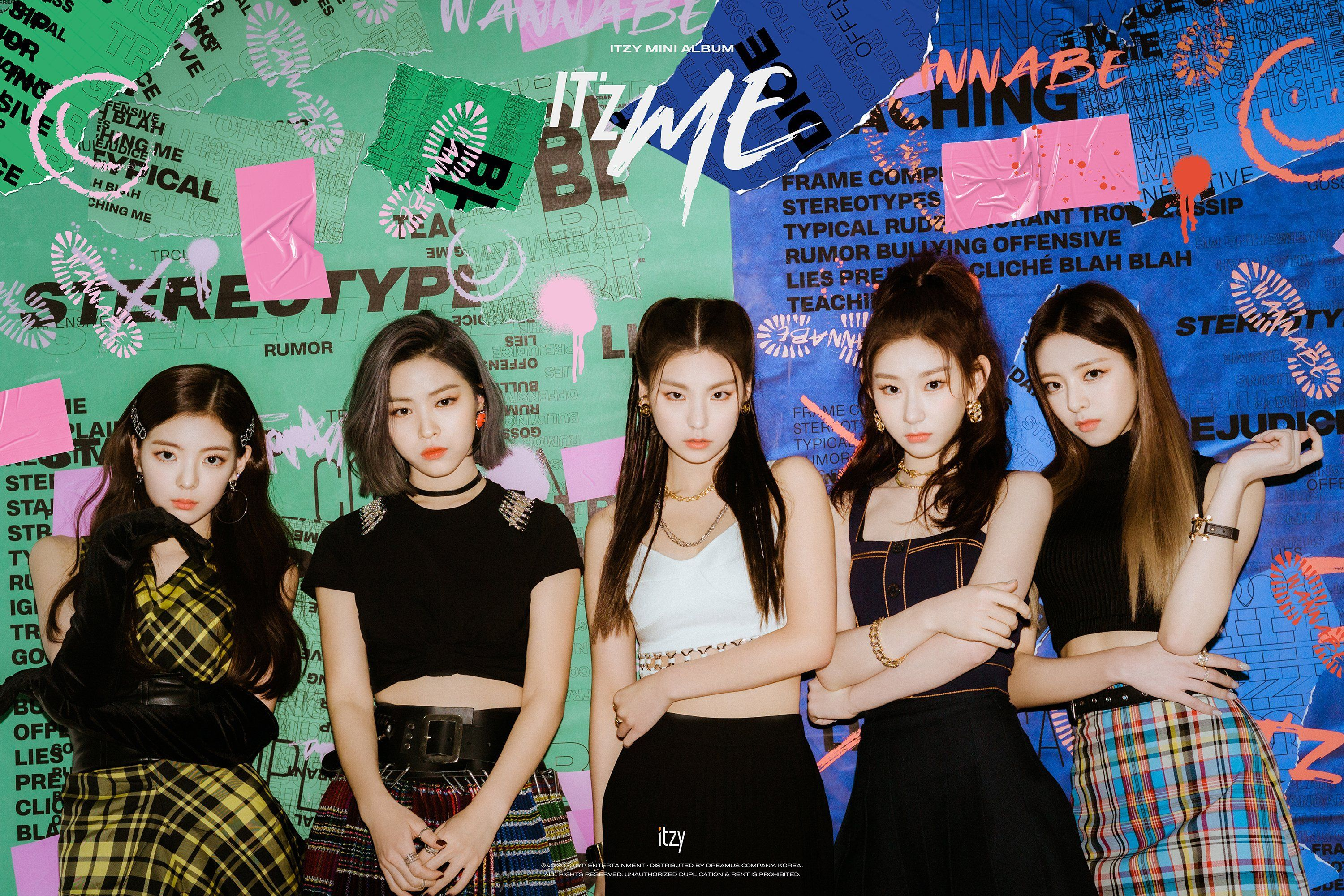 Itzy Wannabe Wallpapers - Wallpaper Cave