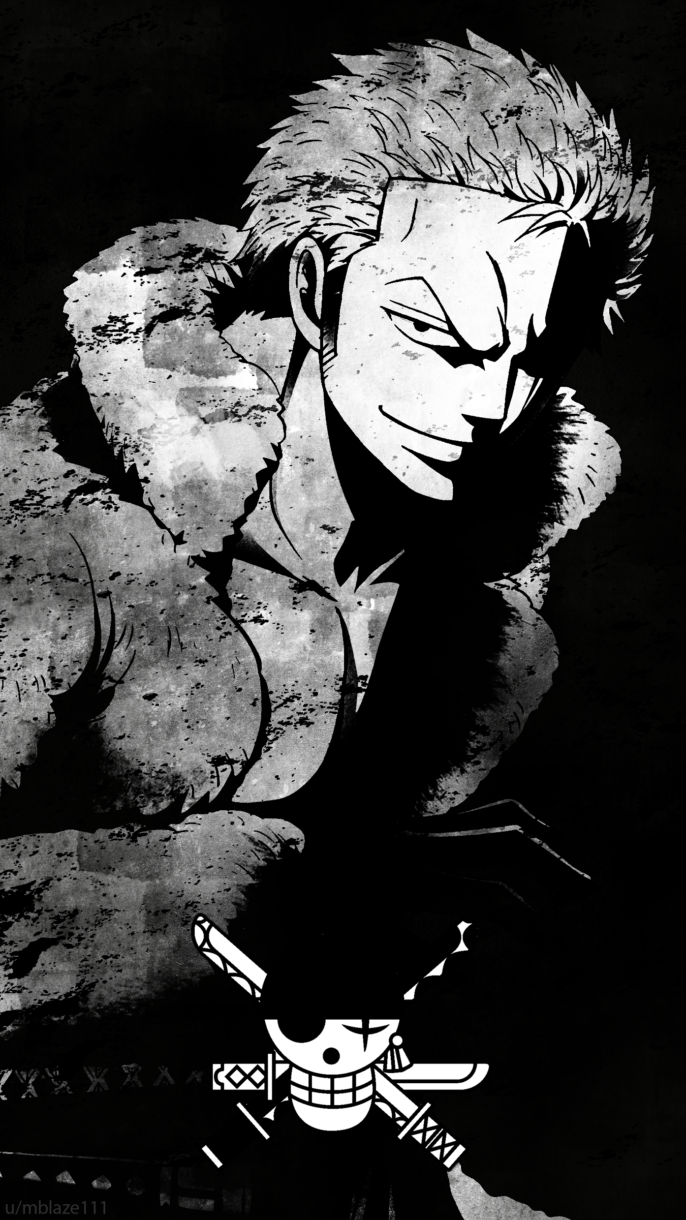 Android One Piece Zoro Wallpapers Wallpaper Cave