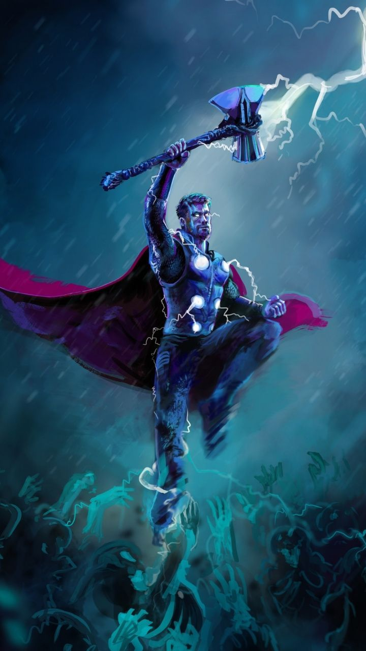Neon Thor Wallpapers - Wallpaper Cave