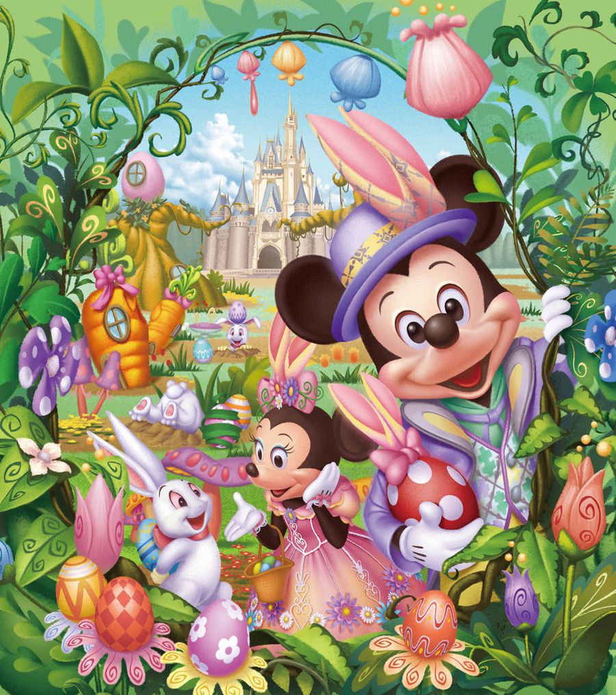 Easter Day Disney Wallpapers Wallpaper Cave