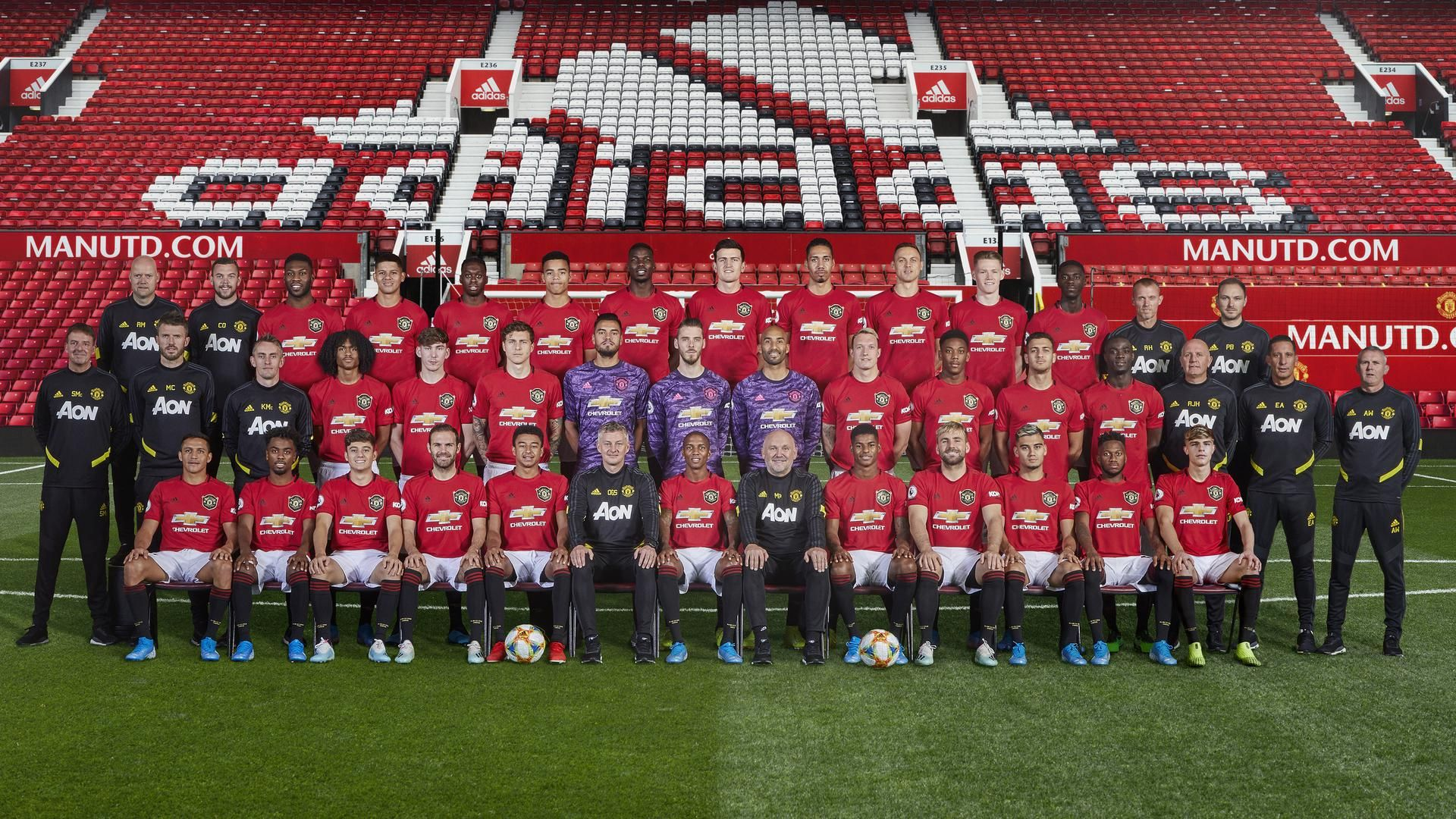 manchester united squad 2020 desktop wallpapers wallpaper cave manchester united squad 2020 desktop