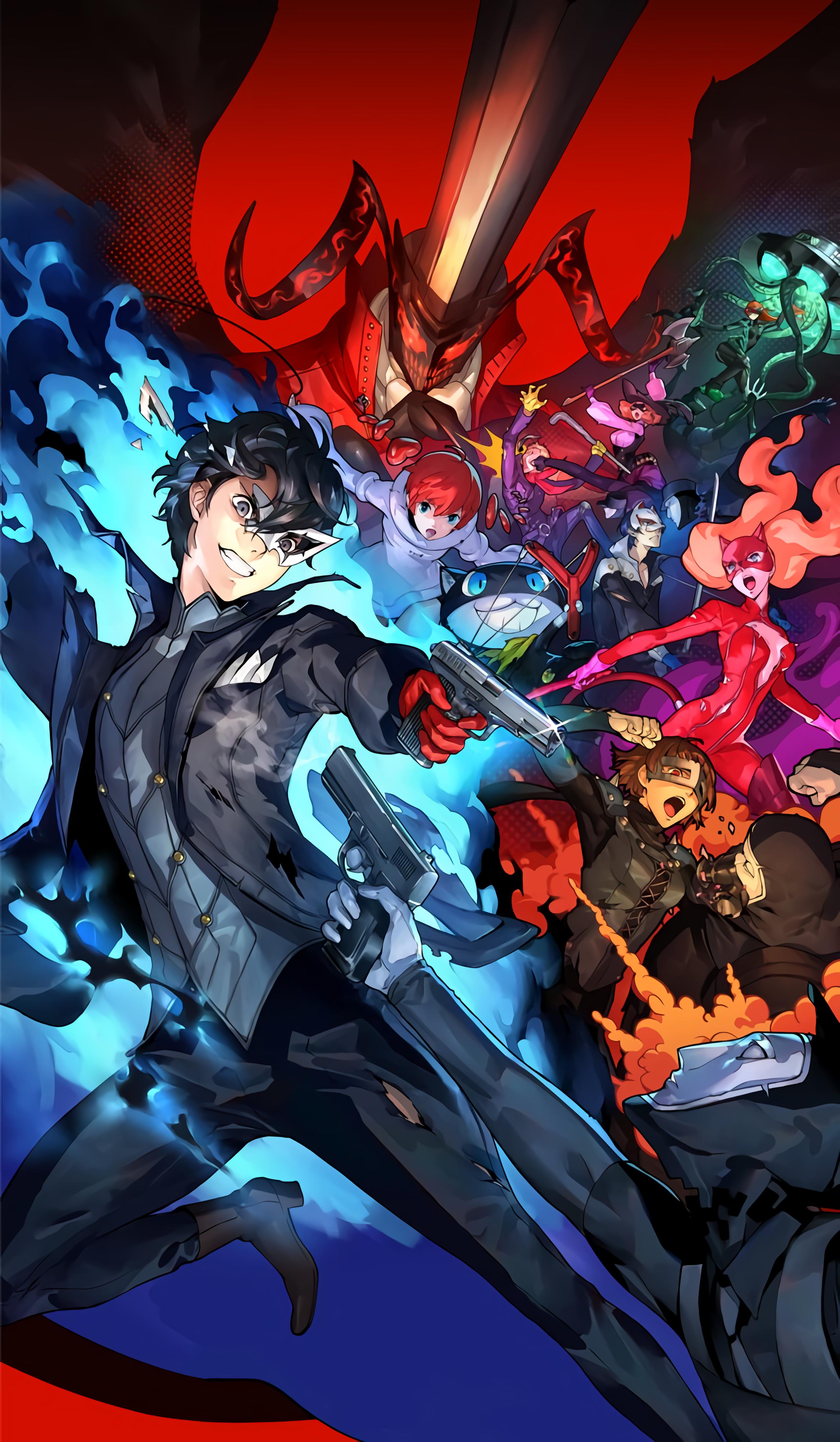 Persona 5 Phone Wallpapers - Wallpaper Cave