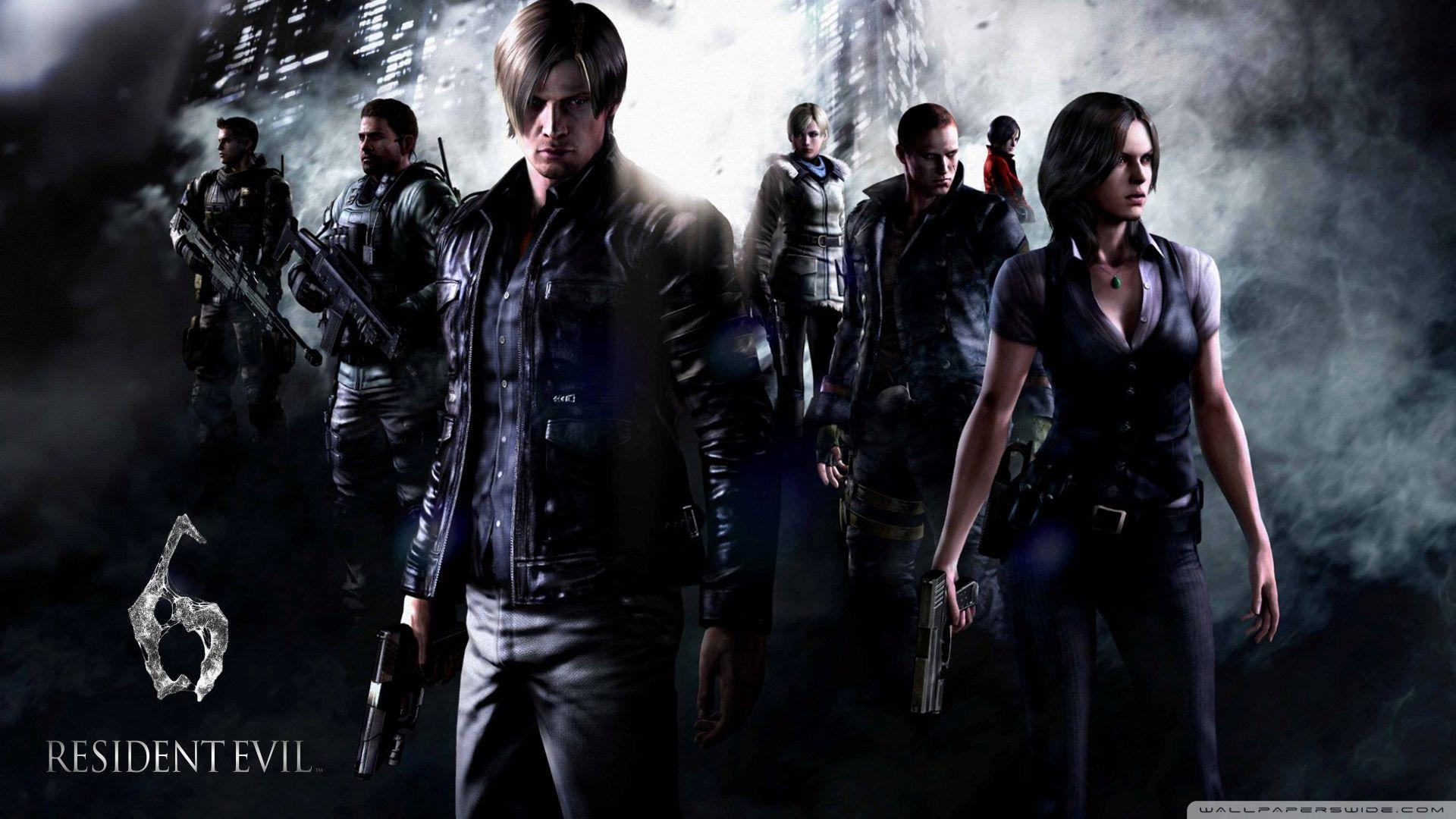 Resident Evil 6 Characters ❤ 4K HD Desktop Wallpapers for 4K Ultra