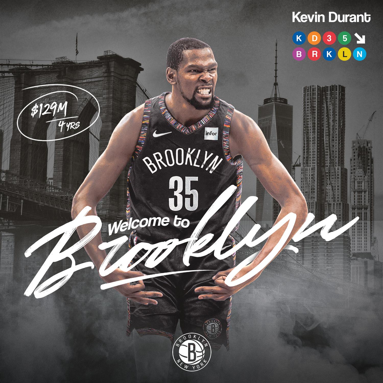 Kevin Durant Brooklyn Nets Wallpaper Hd - Iphone 7 Kyrie ...