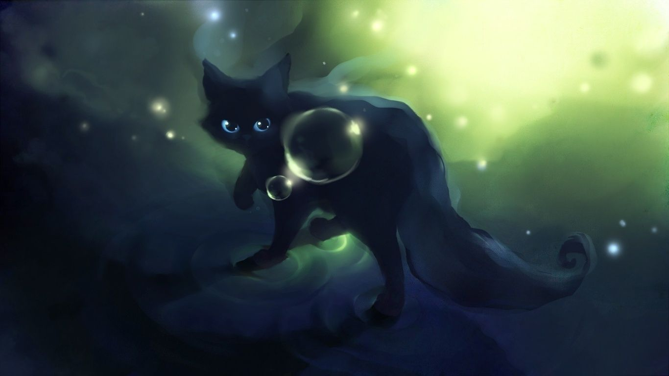 Anime Green Cat Eyes Wallpapers Wallpaper Cave