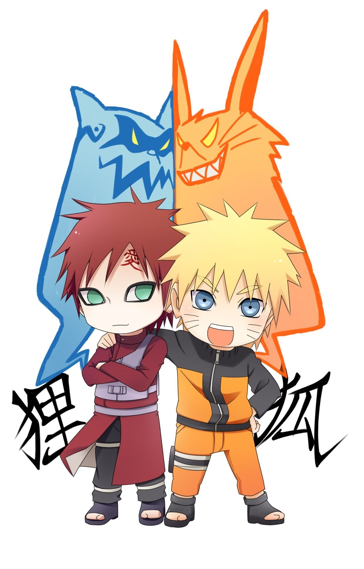 Naruto And Gaara Iphone Wallpapers Wallpaper Cave