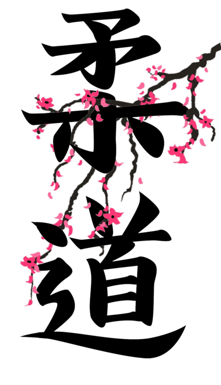 Дзюдо на японском в картинках