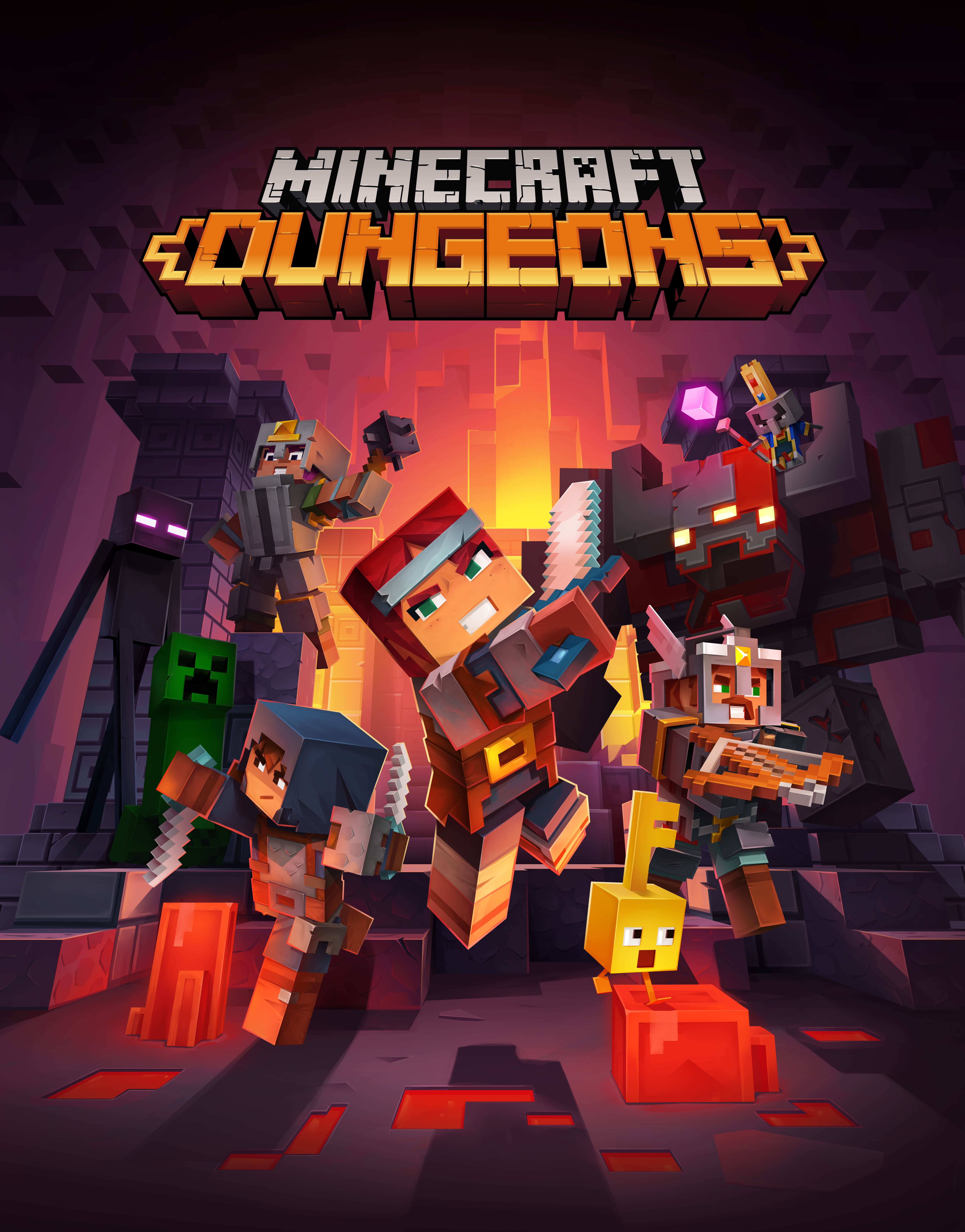 Minecraft Dungeons Wallpapers Wallpaper Cave