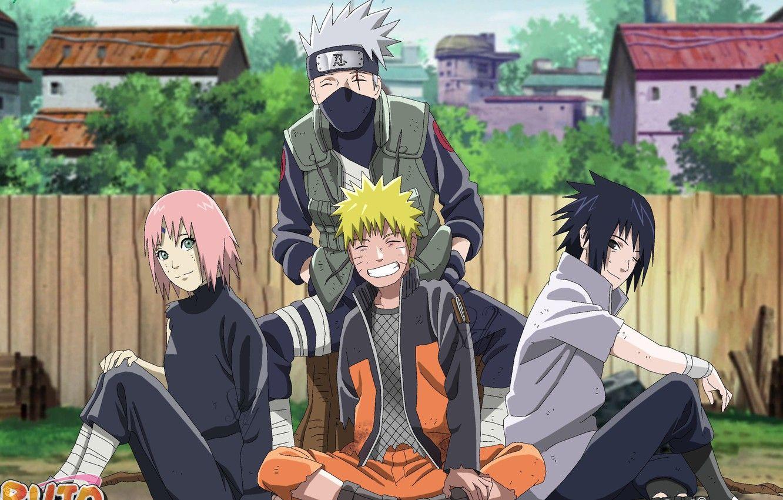Naruto Sakura Sasuke Kakashi Wallpapers Wallpaper Cave