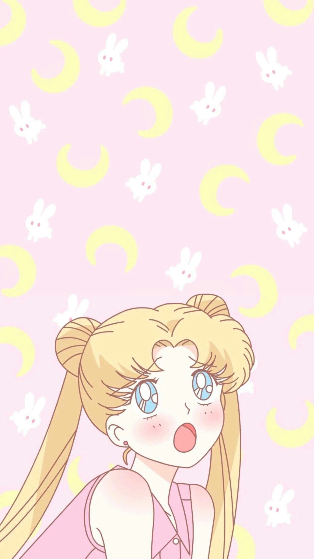 Kawaii Anime Sailor Moon Wallpapers   Wallpaper Cave