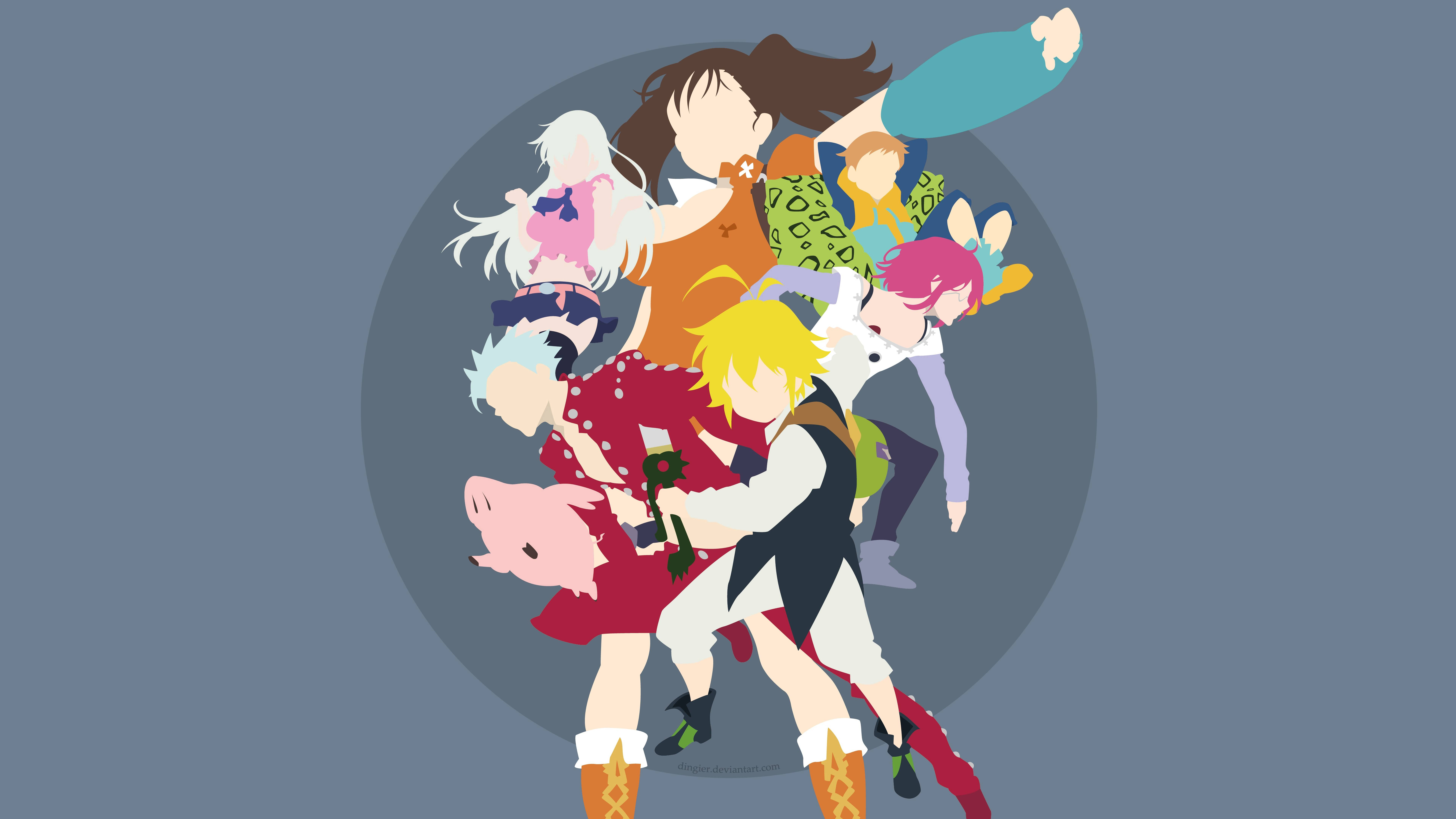 Seven Deadly Sins HD Android Wallpapers - Wallpaper Cave