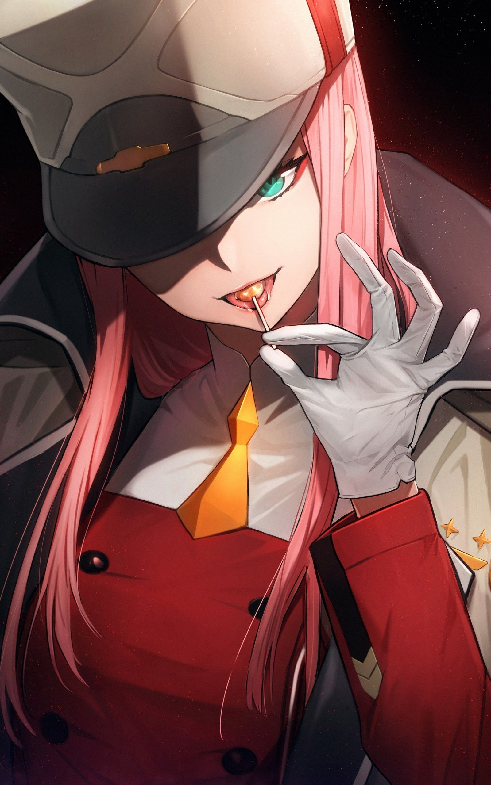Anime Aesthetics Zero Two Wallpapers Wallpaper Cave The great collection of zero two wallpaper for desktop, laptop and mobiles. anime aesthetics zero two wallpapers