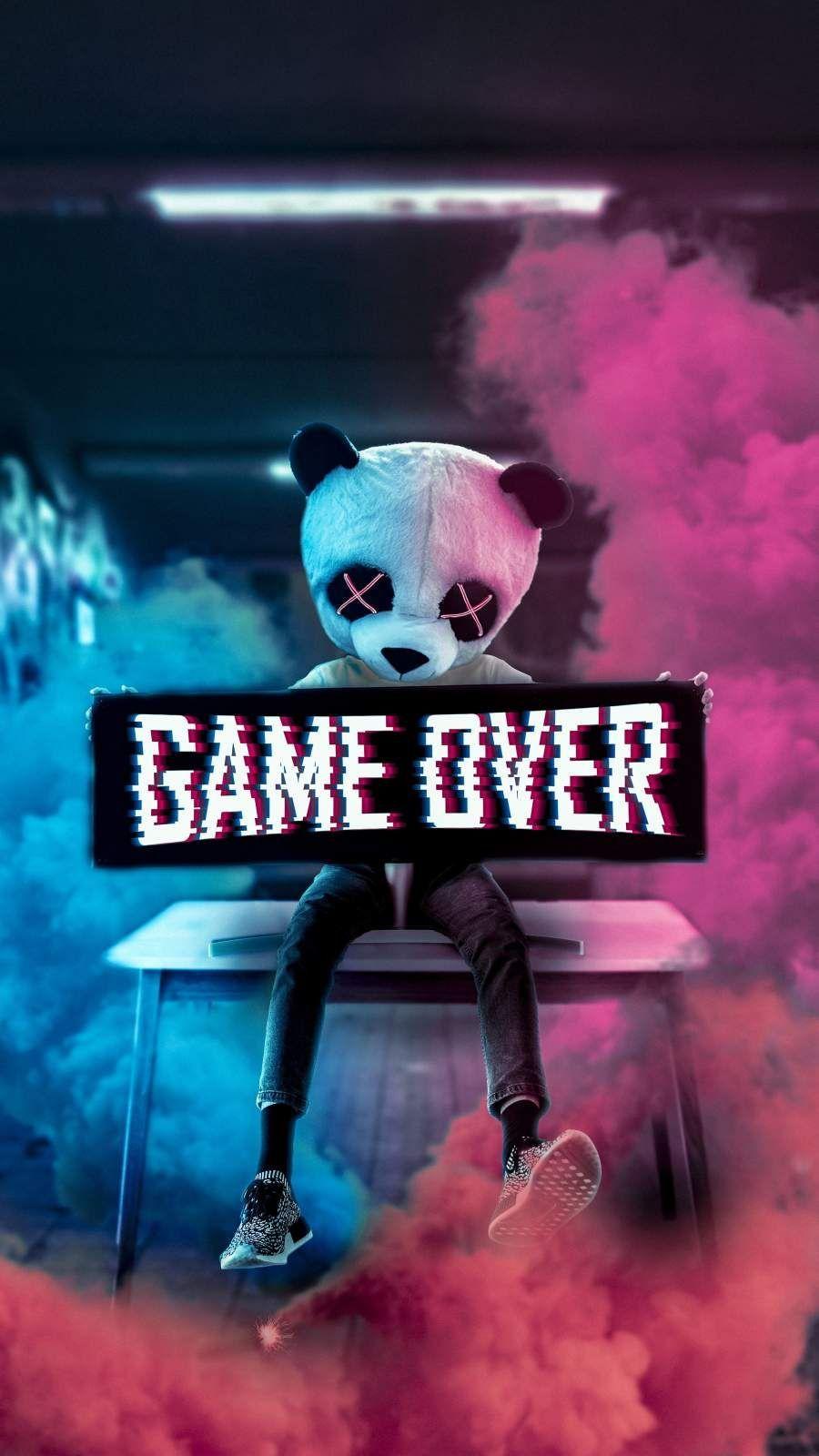 Gamer Panda Wallpapers Wallpaper Cave