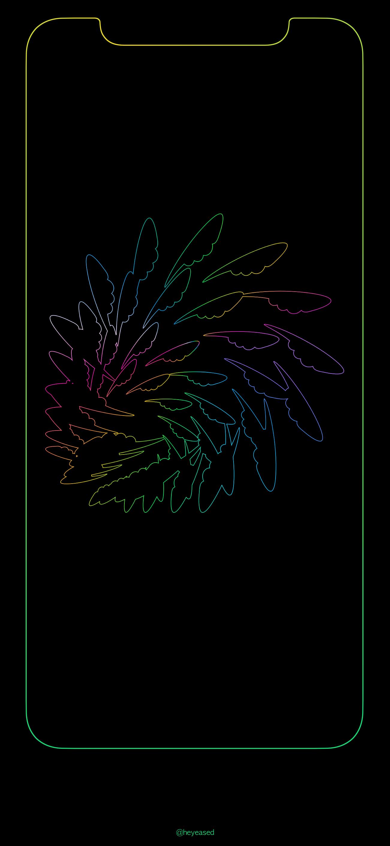 Iphone X Border Wallpapers Wallpaper Cave