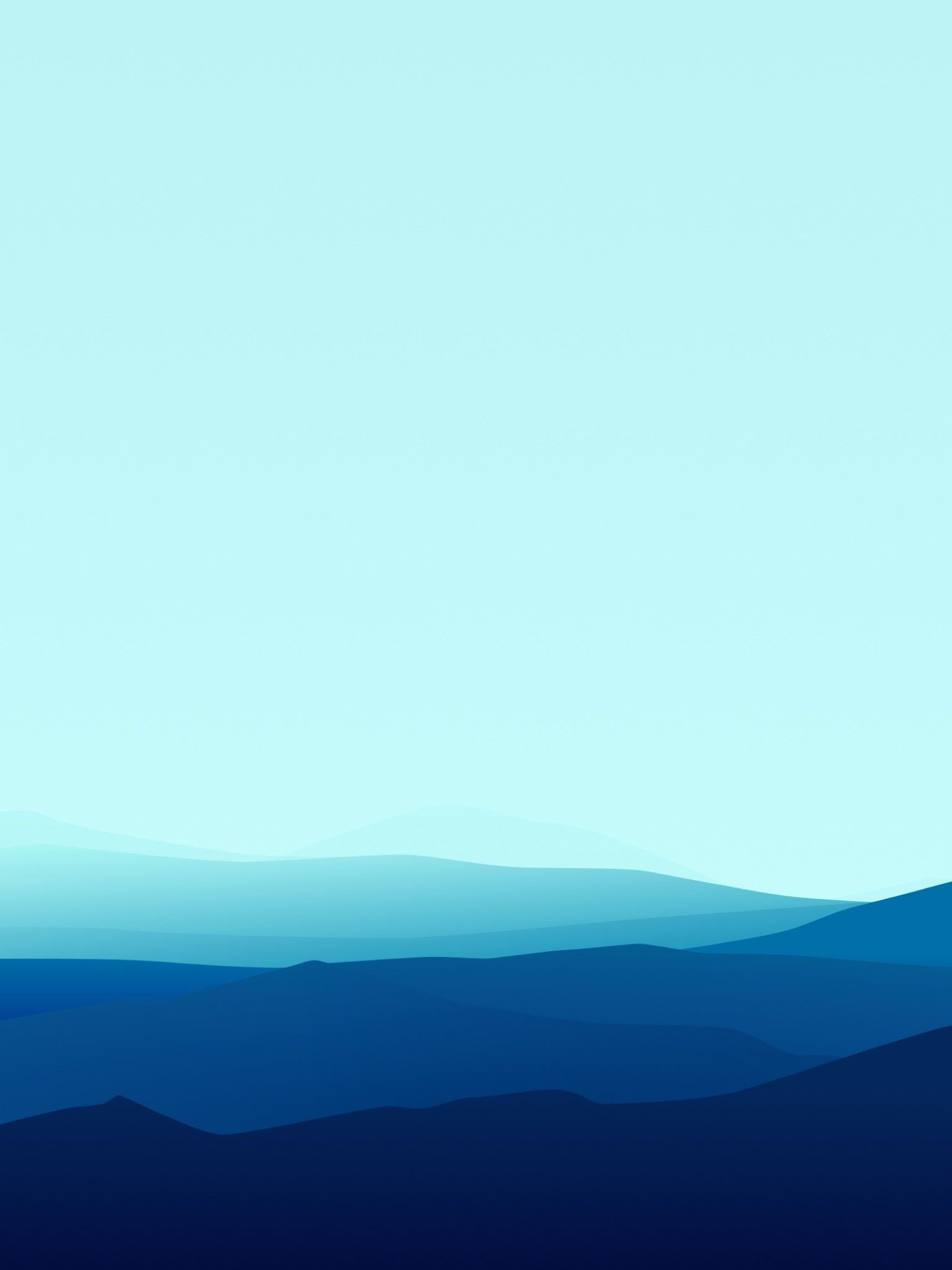 Blue Minimalist Wallpapers - Wallpaper Cave