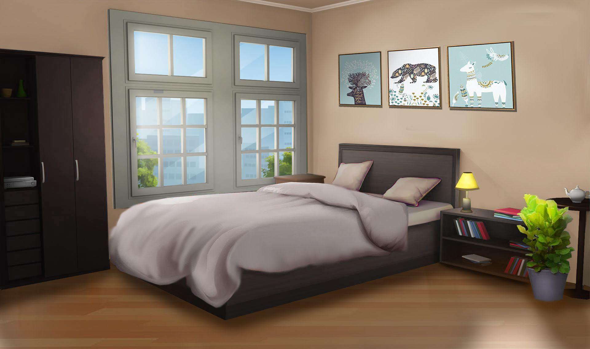 Anime Scenery Wallpaper Cute Anime Bedroom Background Anime Wallpaper Hd
