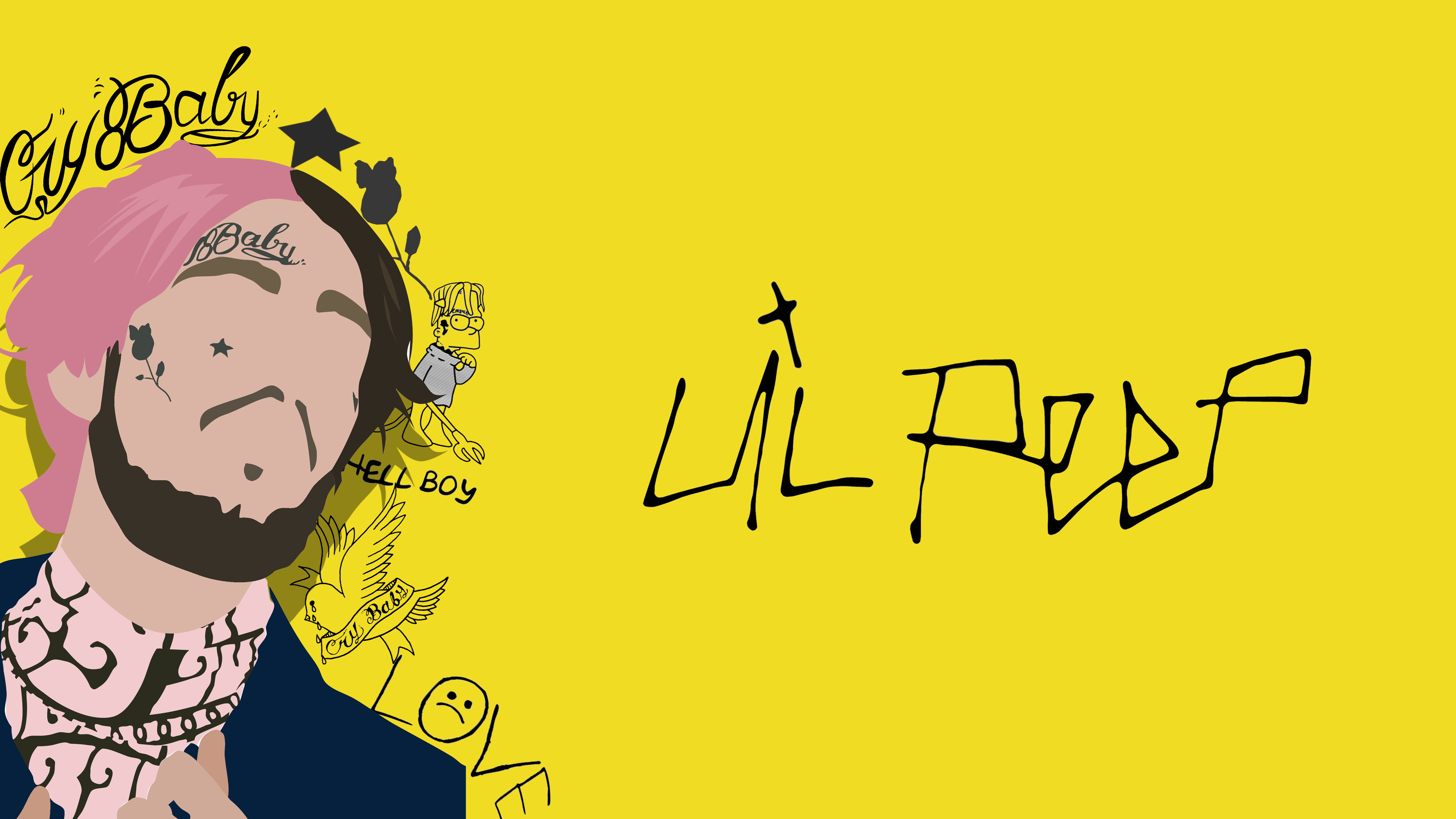 Lil Peep Love Computer Wallpapers - Wallpaper Cave