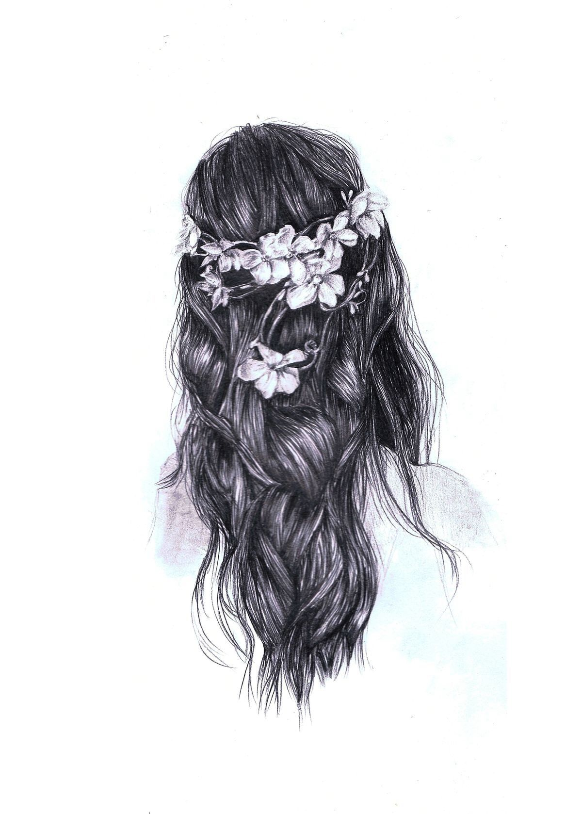 Black And White Aesthetic Girl Wallpapers Wallpaper Cave