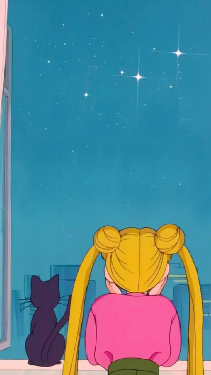 Aesthetic 90s Sailor Moon Ps4 Wallpapers Wallpaper Cave