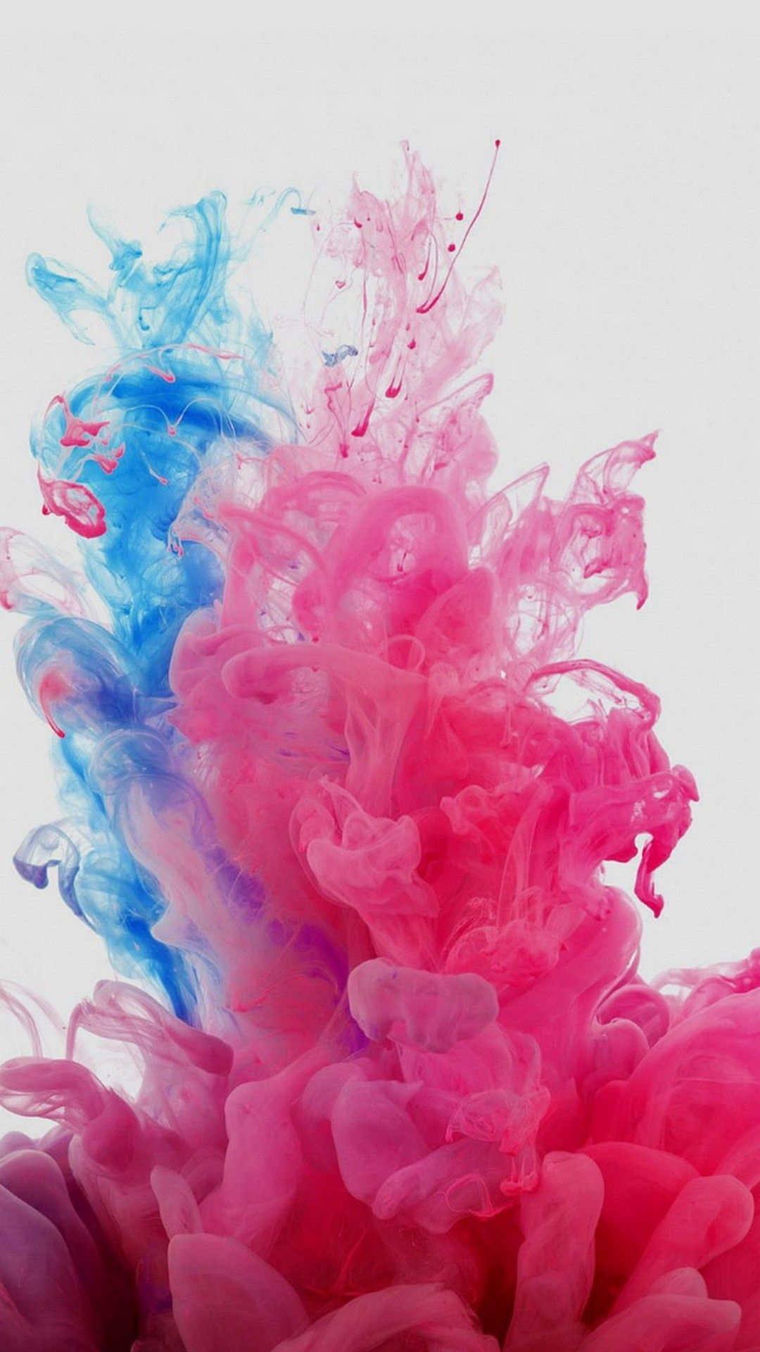 Smokey Pink And Blue Wallpapers - Wallpaper Cave